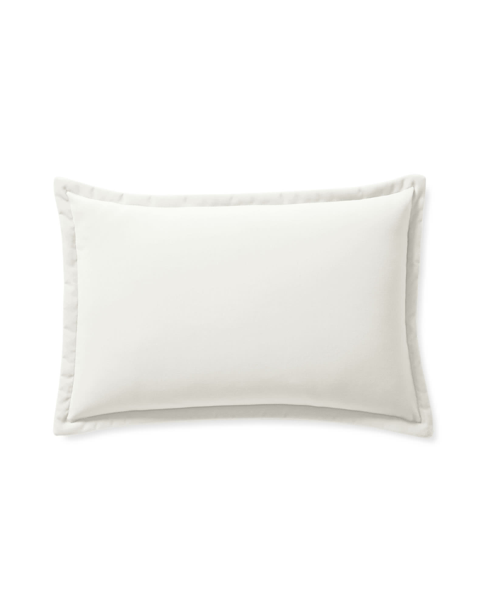 Quinn Velvet Pillow Cover, Ivory