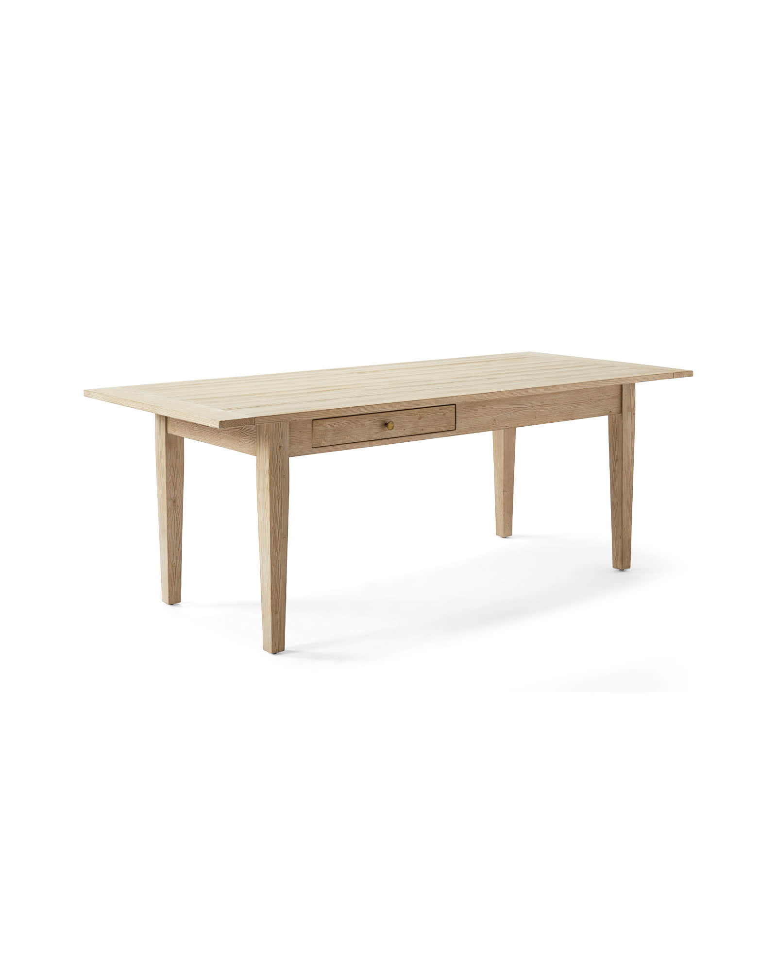 "Beach House 84"" Dining Table - Sunbleached Pine, Sunbleached Pine"