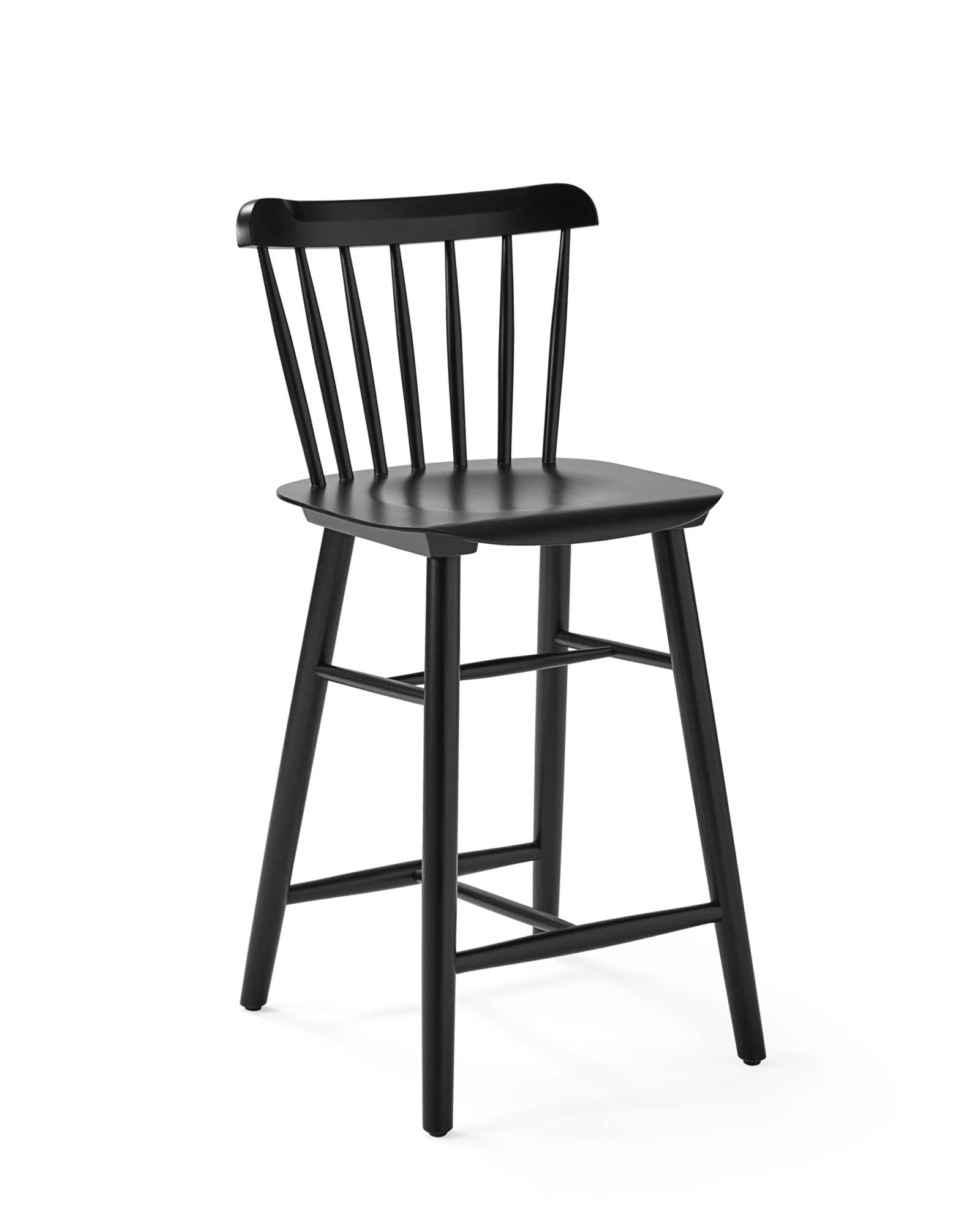 Tucker Counter Stool, Black