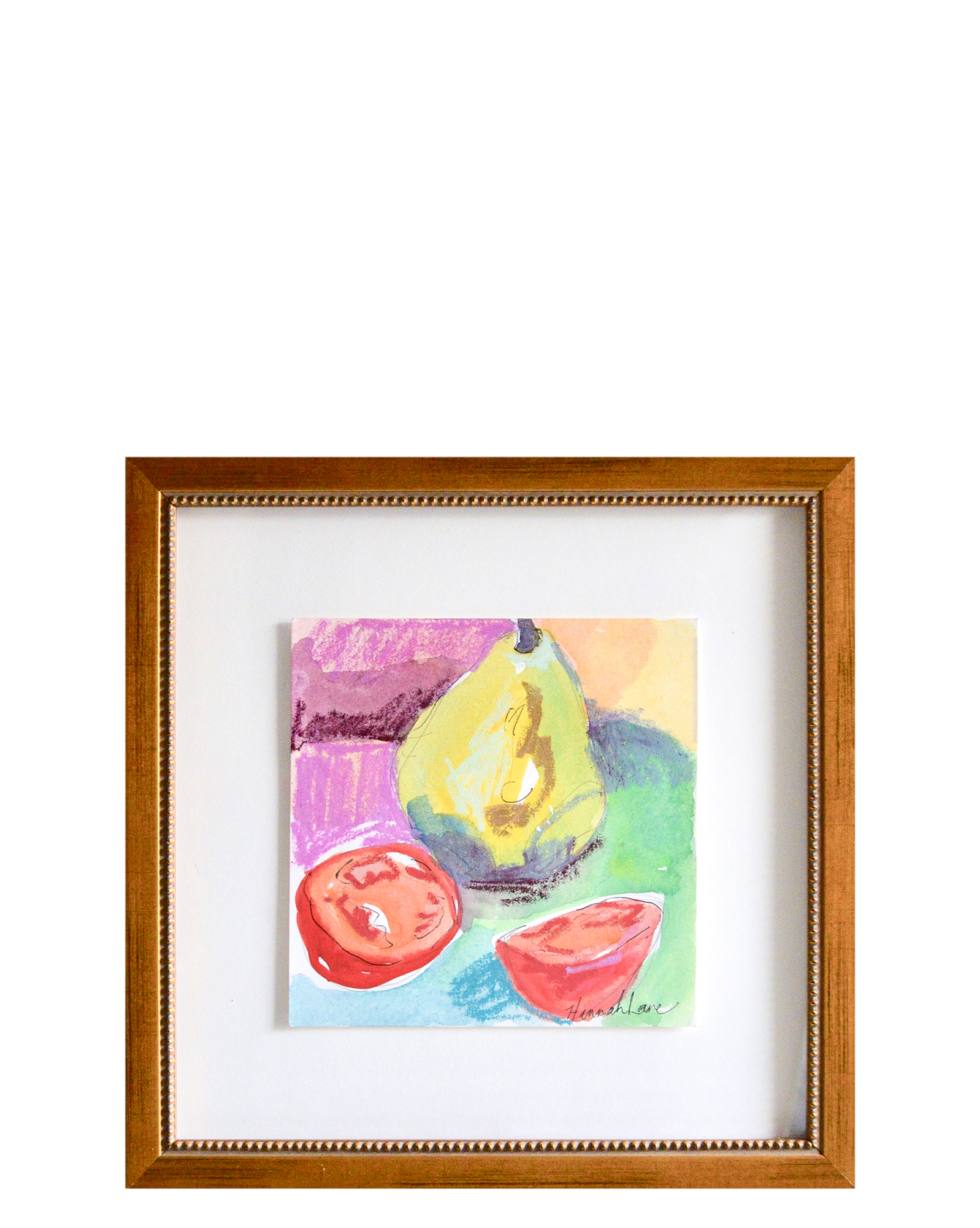 """""""Pear and Tomatoes"""" by Hannah Lane,"""