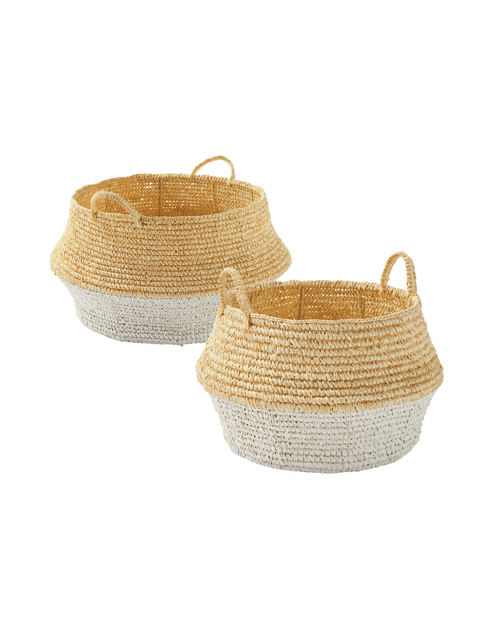 Ocean Point Colorblock Baskets by Serena And Lily