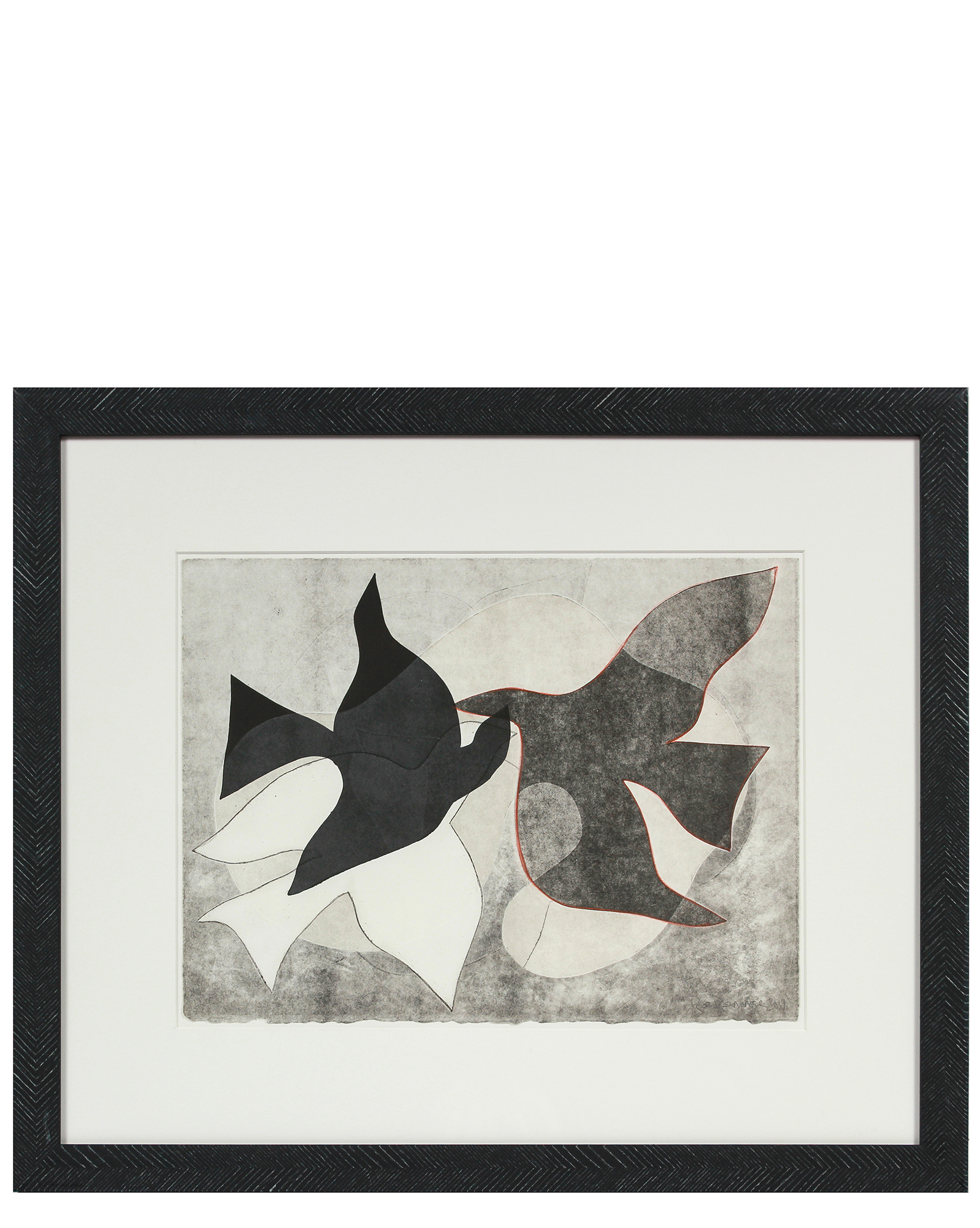 """""""Braques Birds I"""" by Rob Delamater,"""