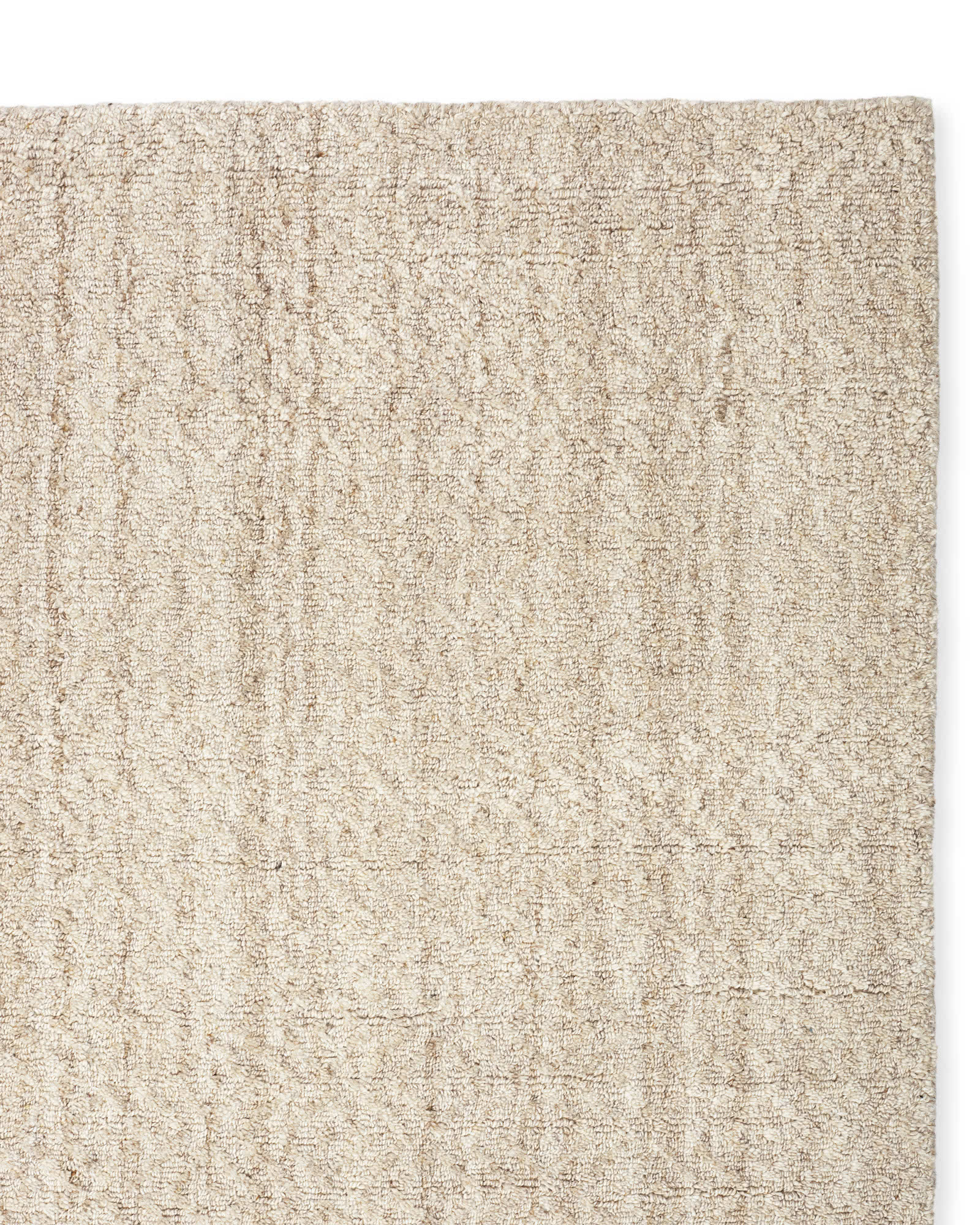 Rapallo Rug Swatch, Heathered Natural