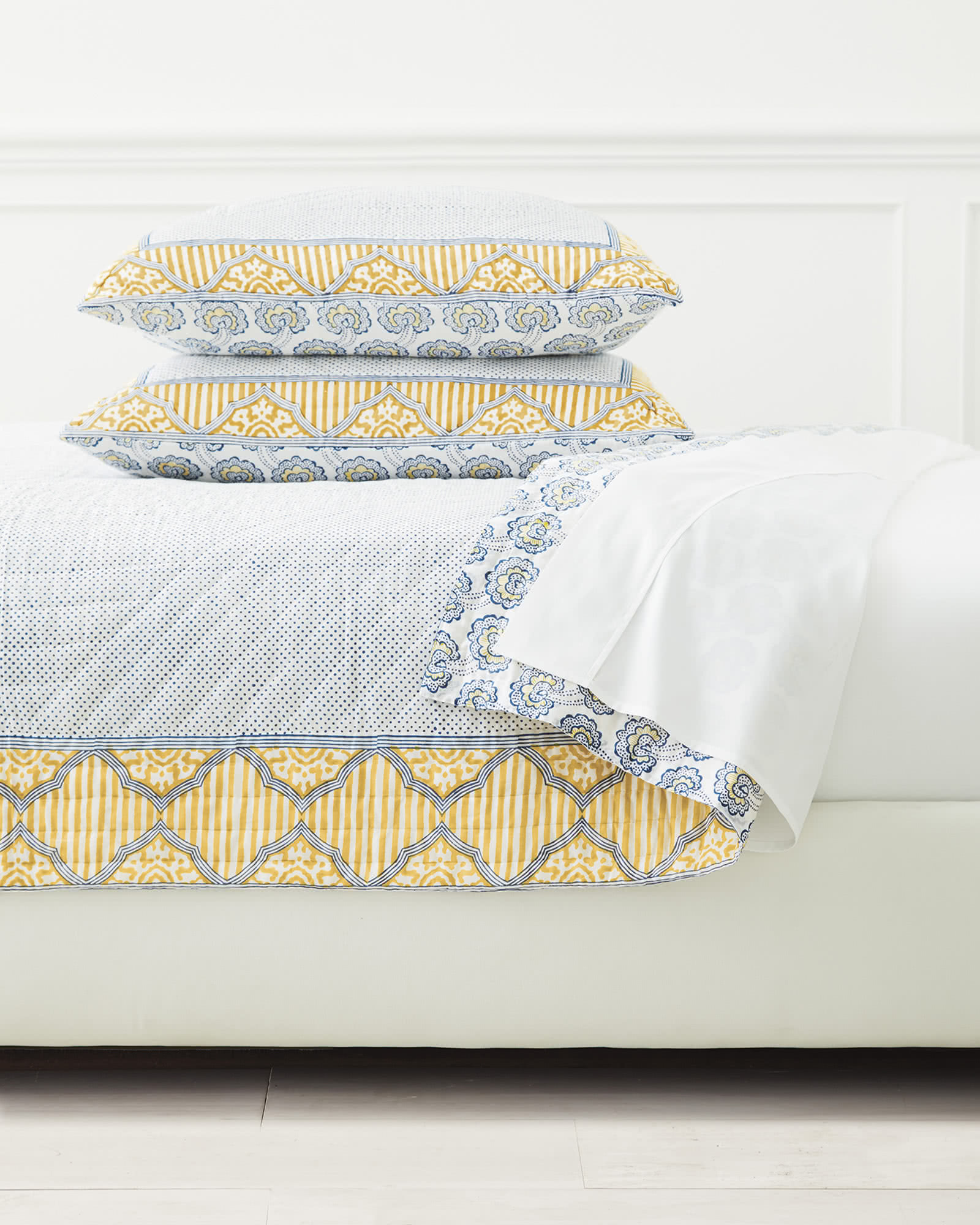 Ravello Quilted Shams