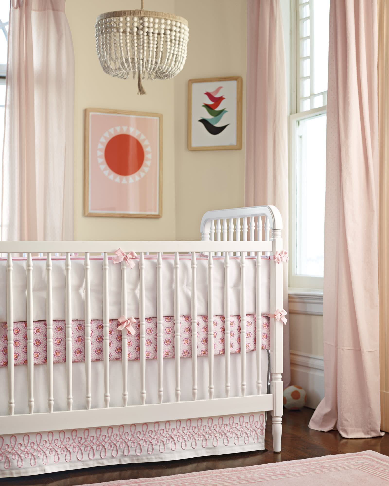Starburst Crib Sheet