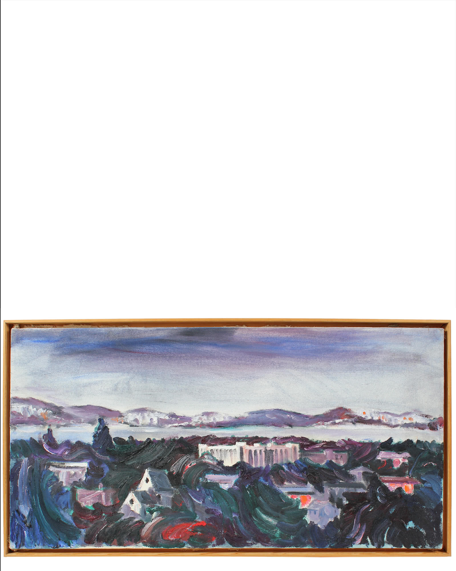 """Abstracted East Bay Scene"" by John Nicolini,"