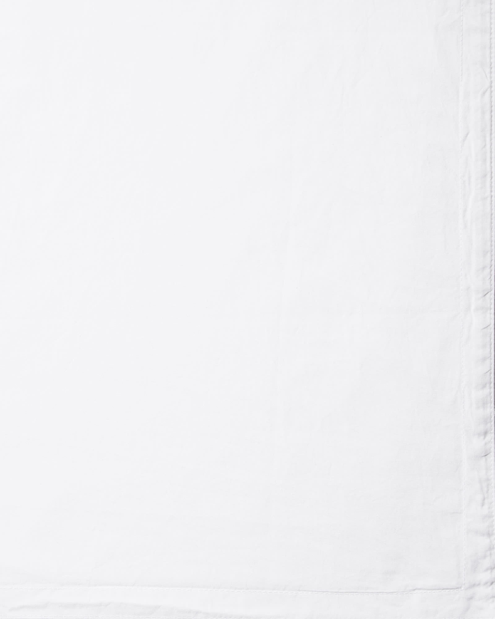 Classic Percale Bedding Swatch, White