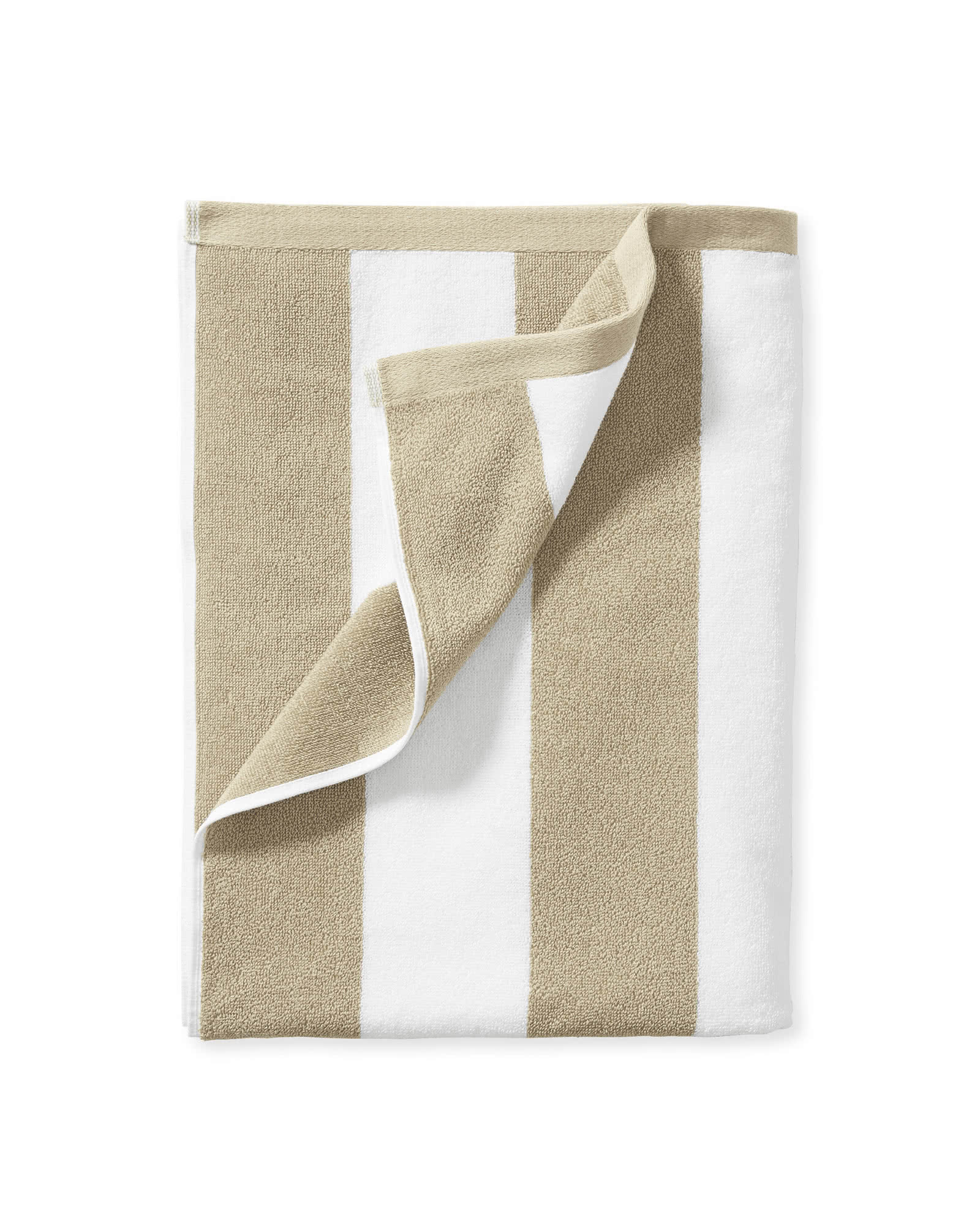 Cabana Stripe Beach Towel, Sand