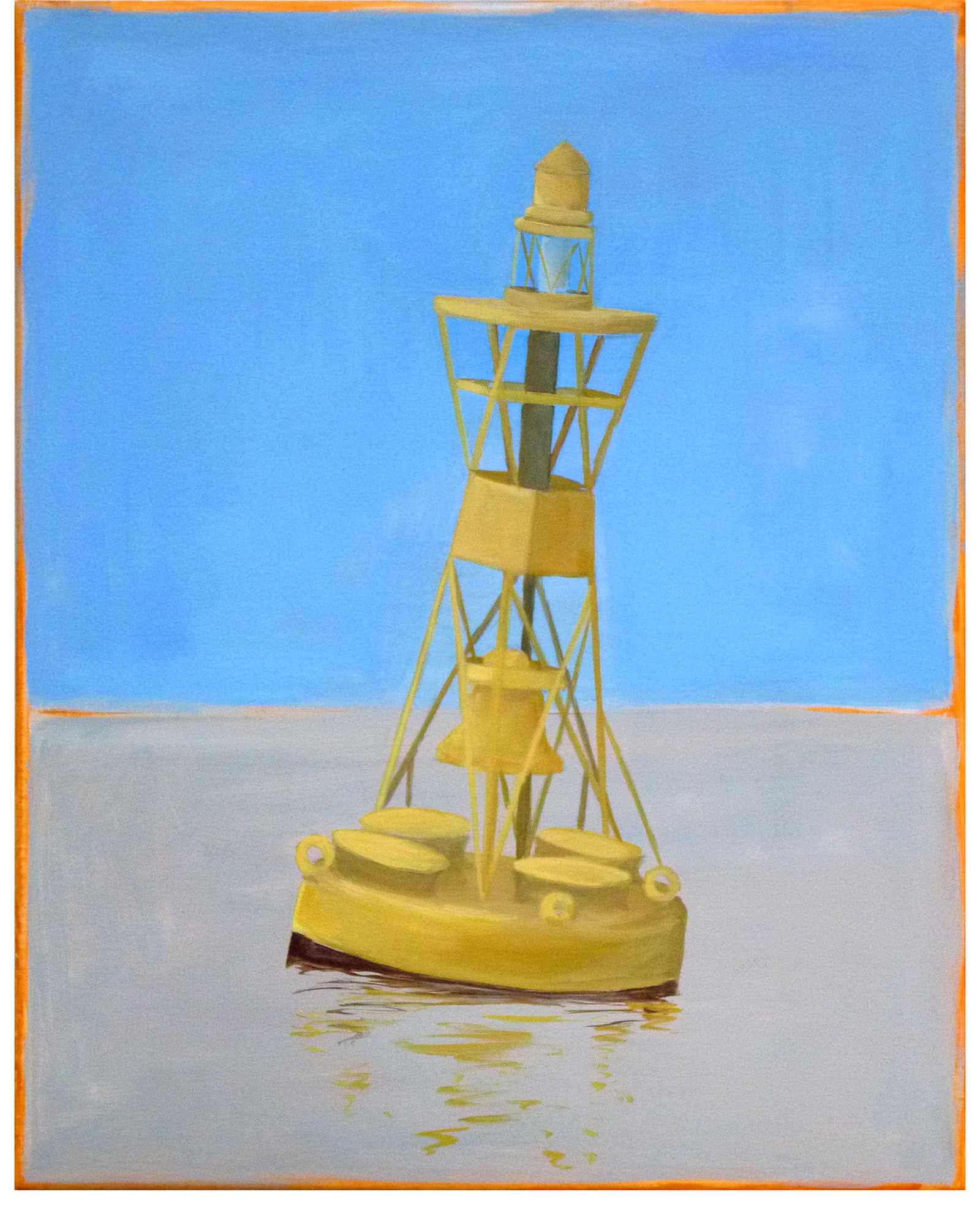 """Large Buoy #2  "" by Carol Saxe,"