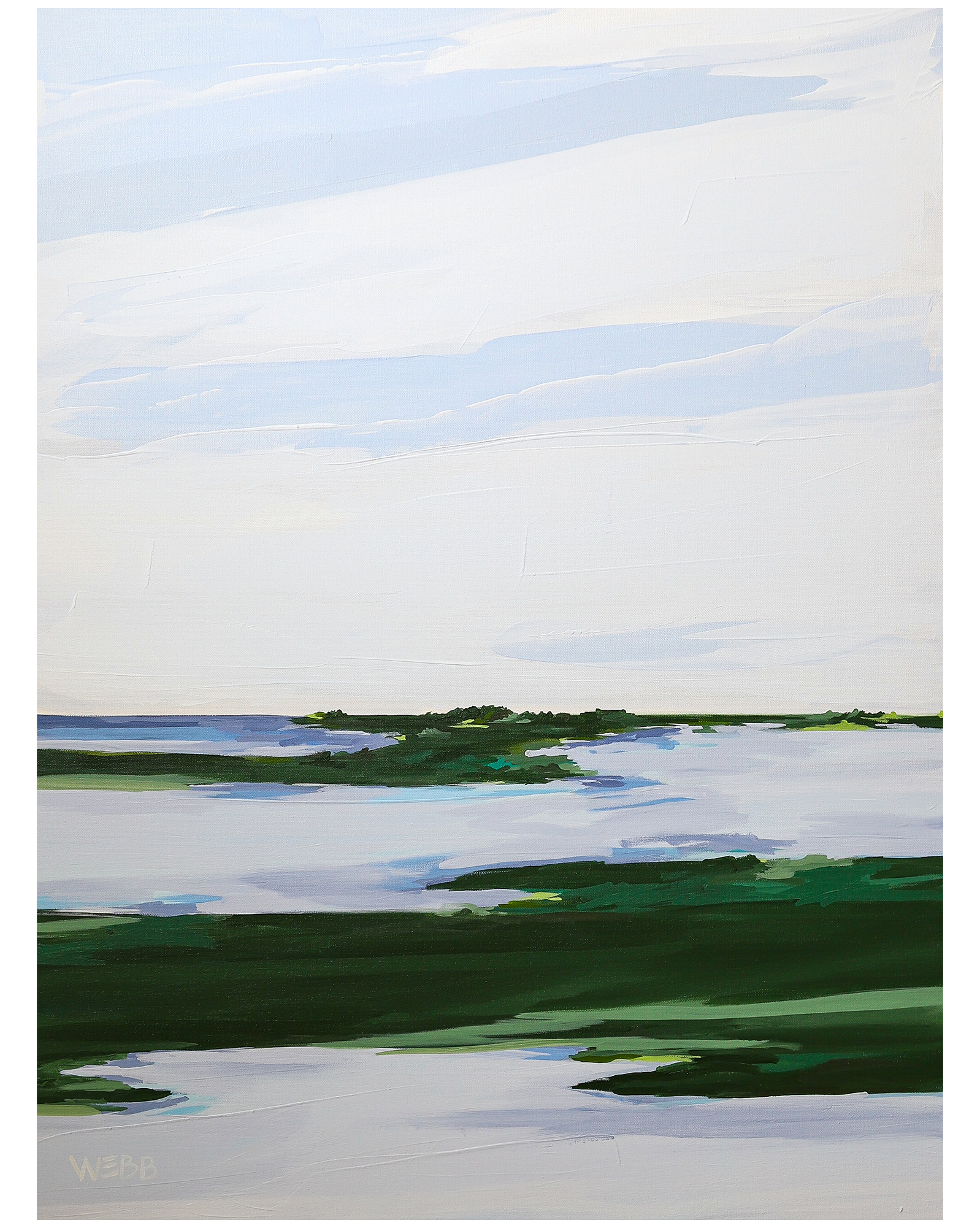 """Salt Marsh No. 2"" by Rebekah Webb,"