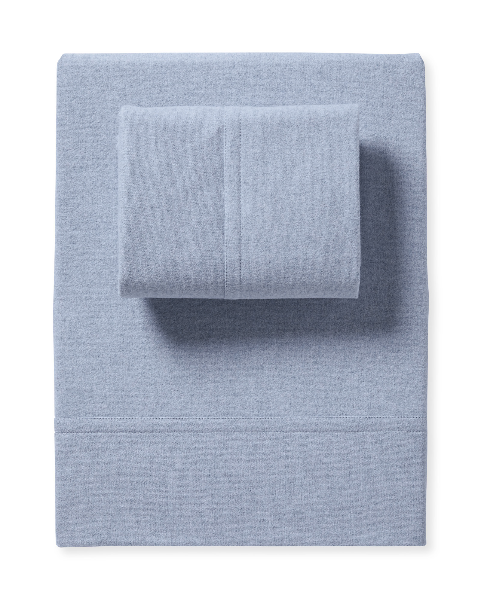 Alpine Flannel Sheet Set, Chambray
