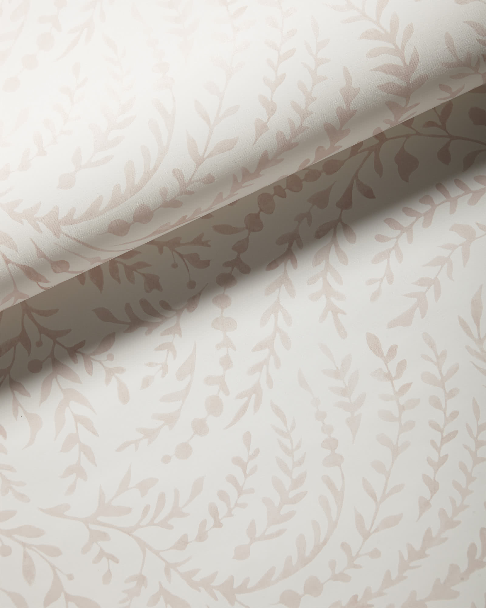 Priano Wallpaper, Dusty Pink