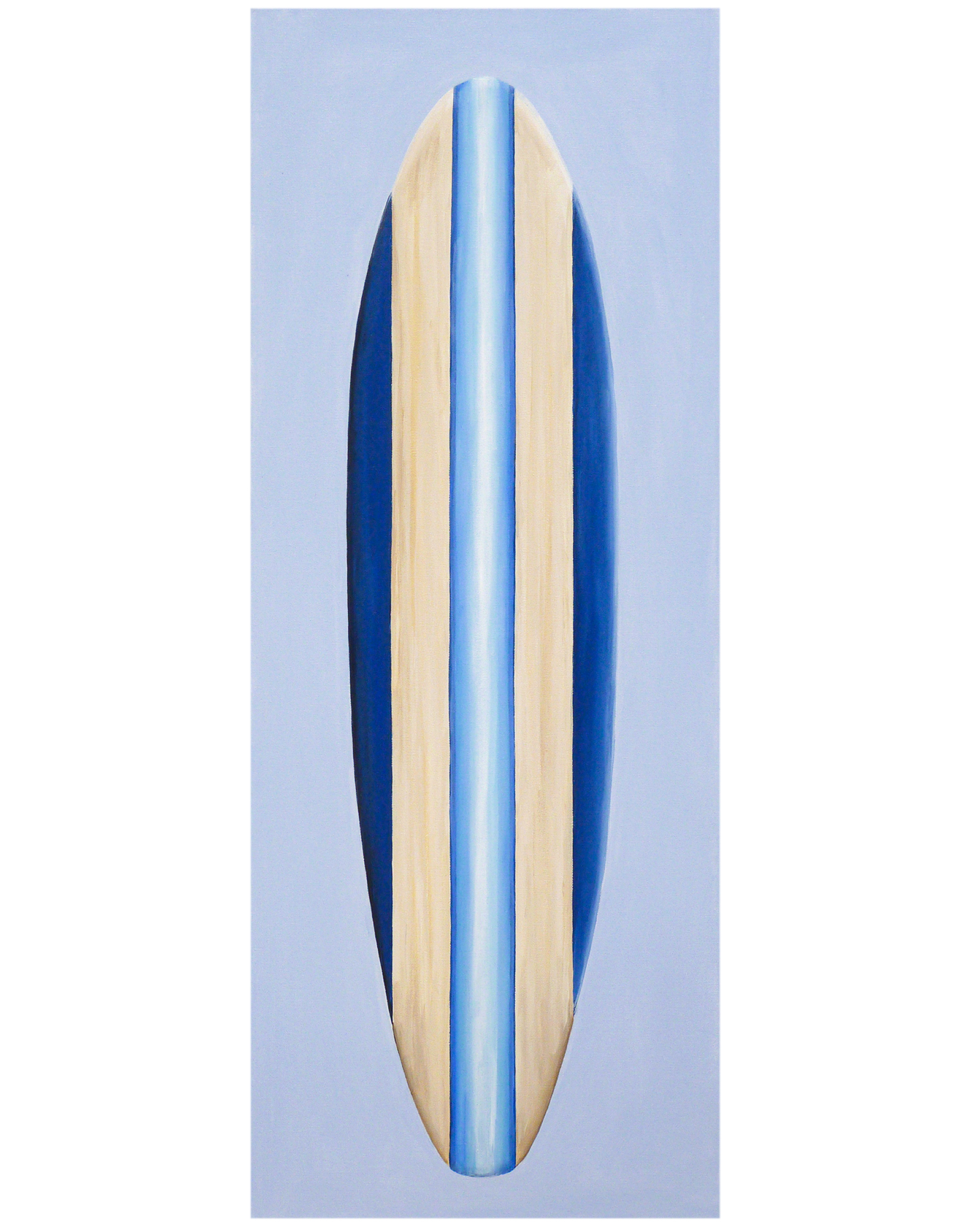 "Surfboard #11"" by Carol Saxe,"