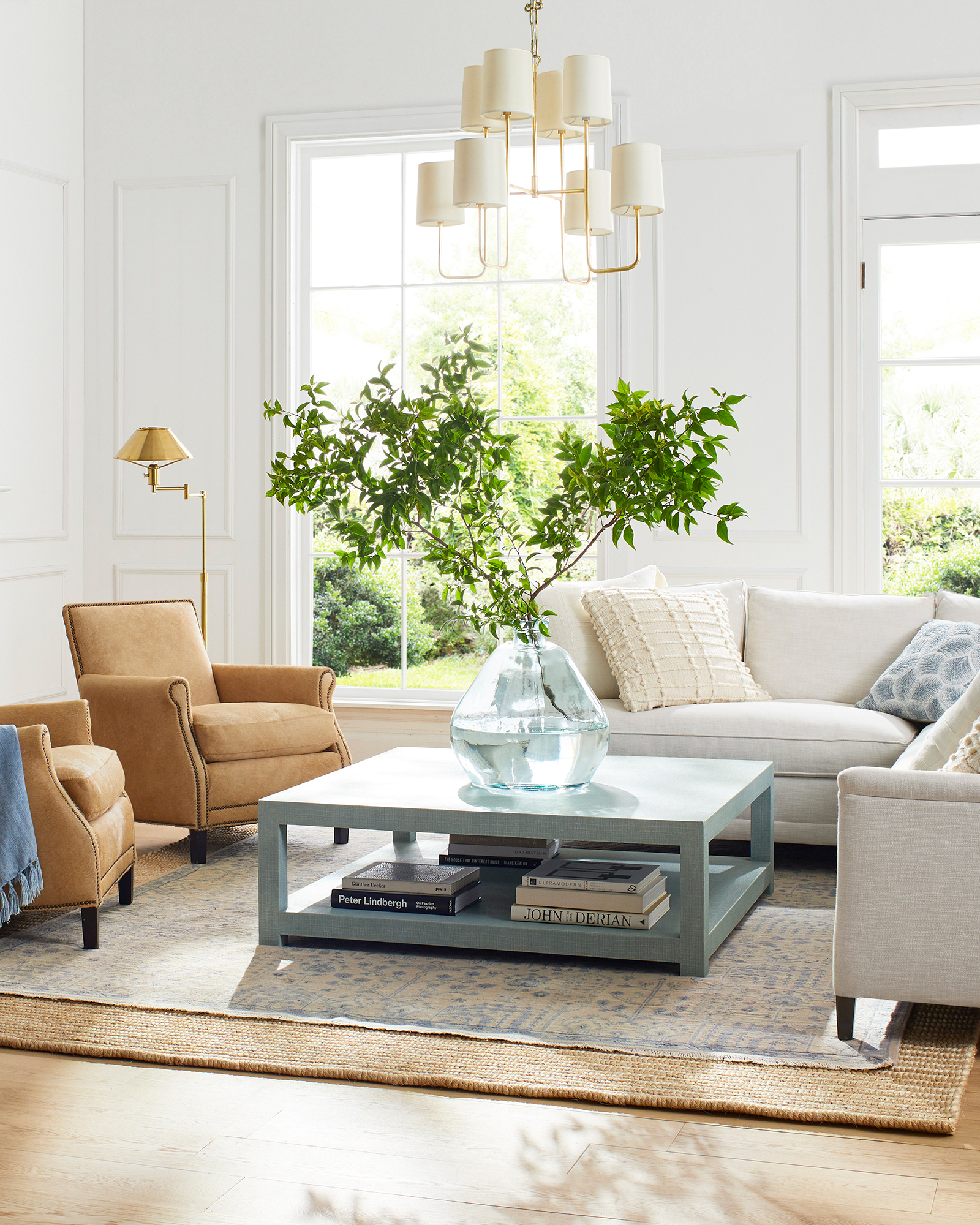 Spruce Street L-Sectional with Bench Seat – Left-Facing,