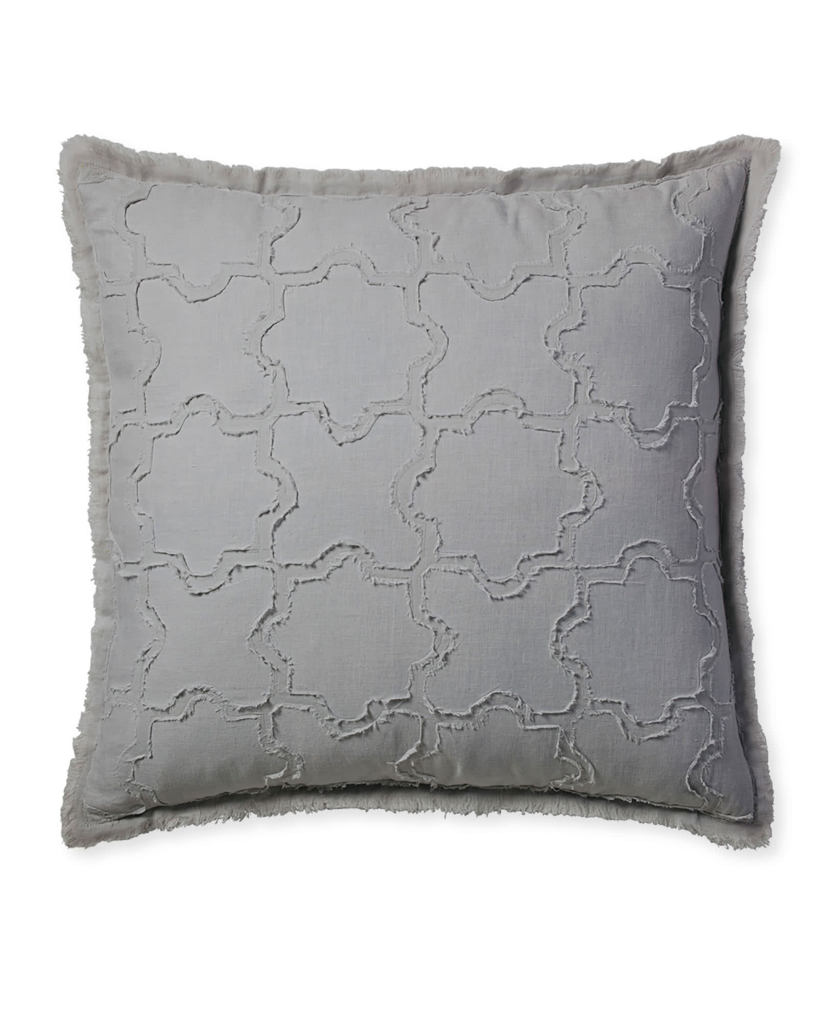 Barcelona Pillow Cover, Nickel