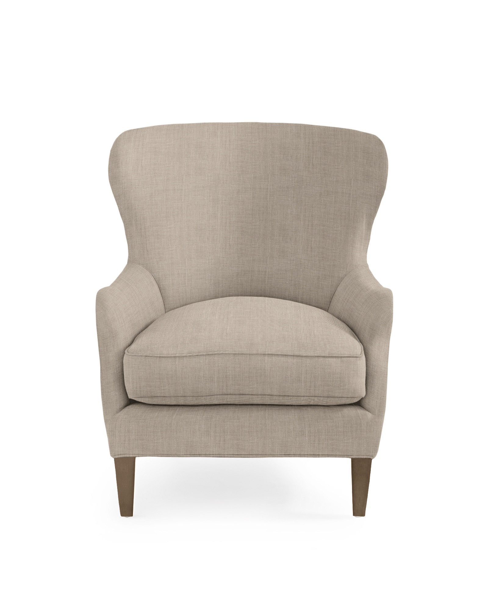 Thompson Wing Chair - Twine Washed Linen,