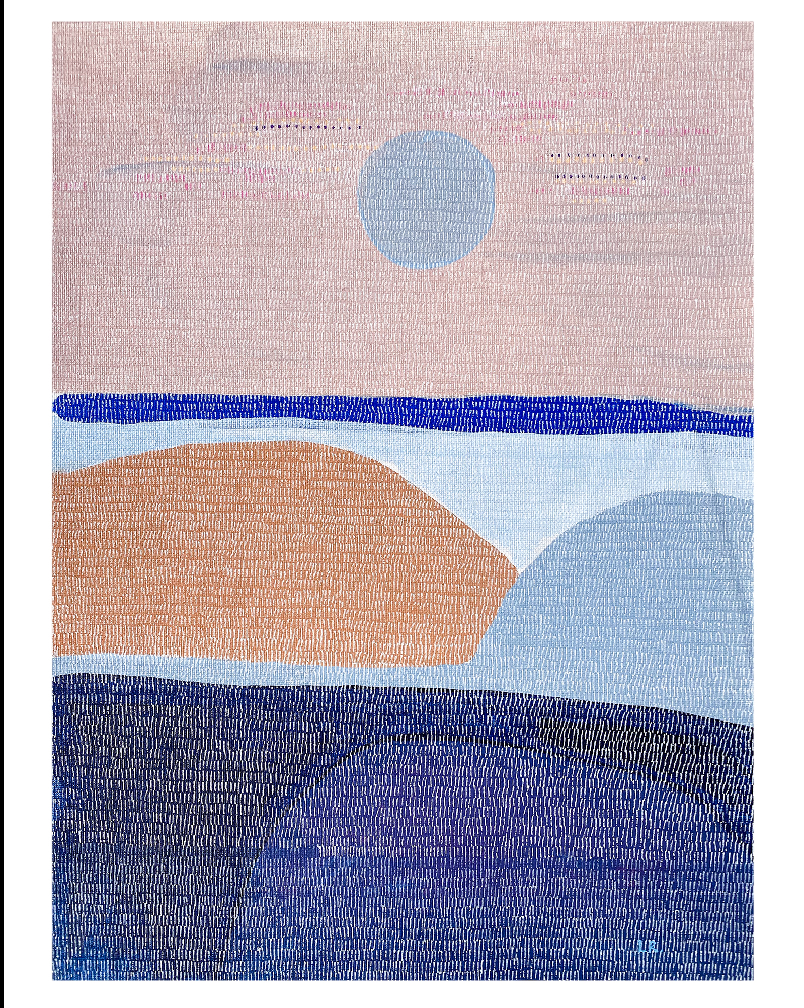 Marin Headlands VII by Ruth Le Roux ,