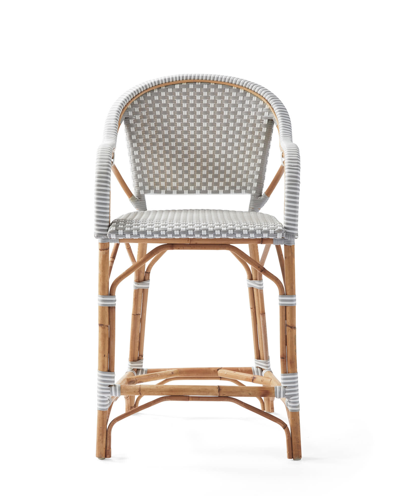 Riviera Classic Counter Stool, Fog