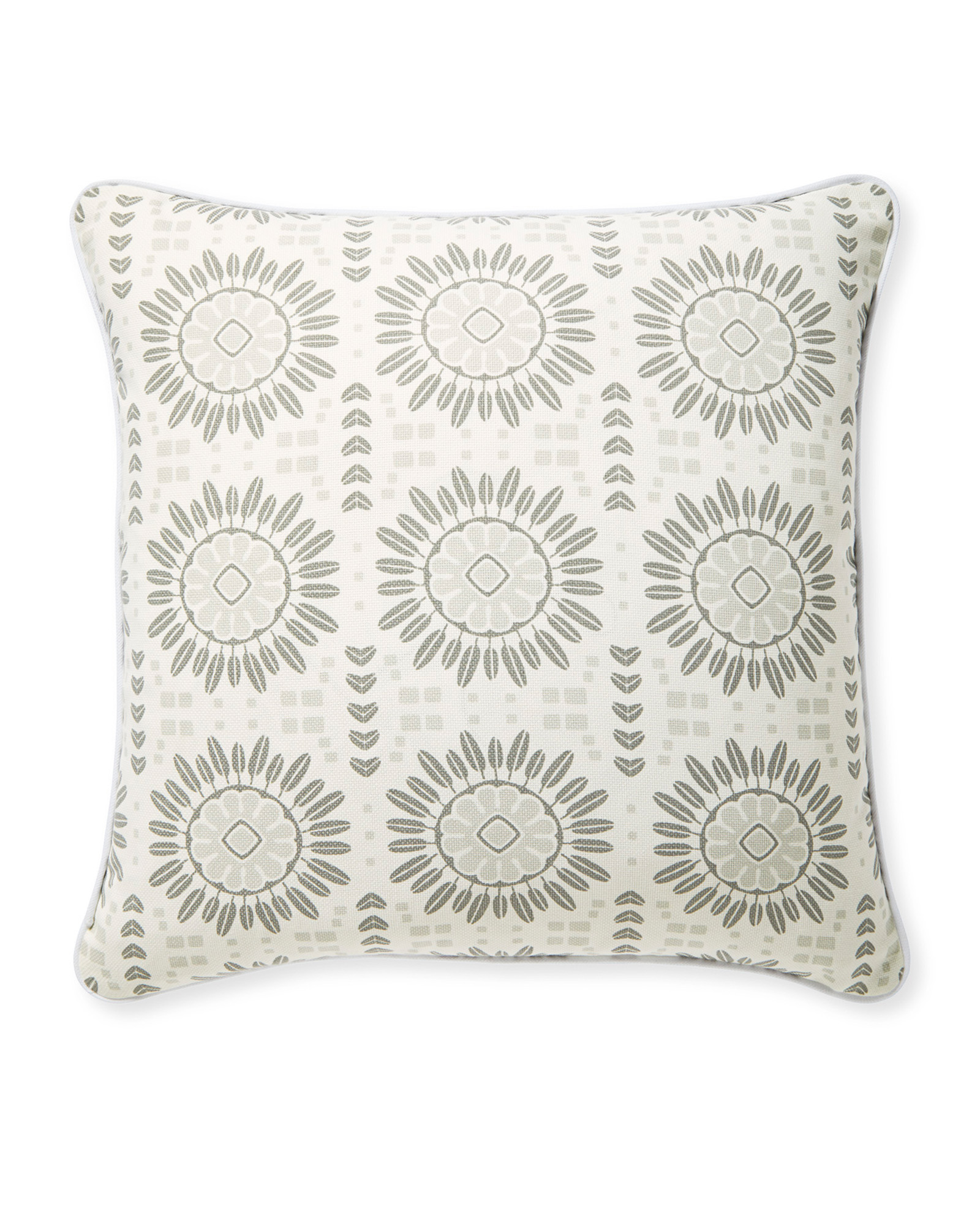 Campania Pillow Cover, Grey