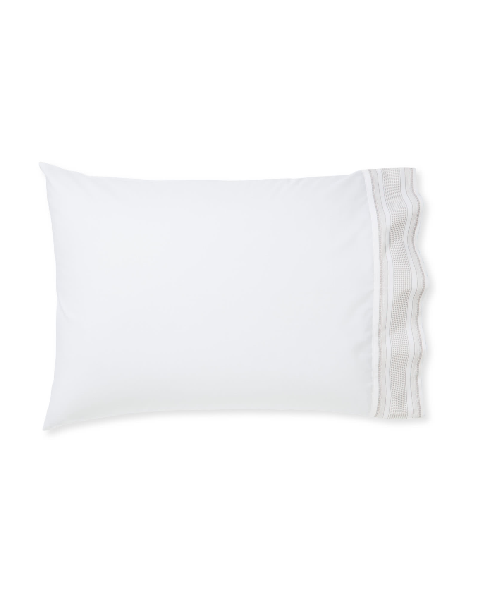 Extra Beaumont Pillowcases (Set of 2) - Bark,