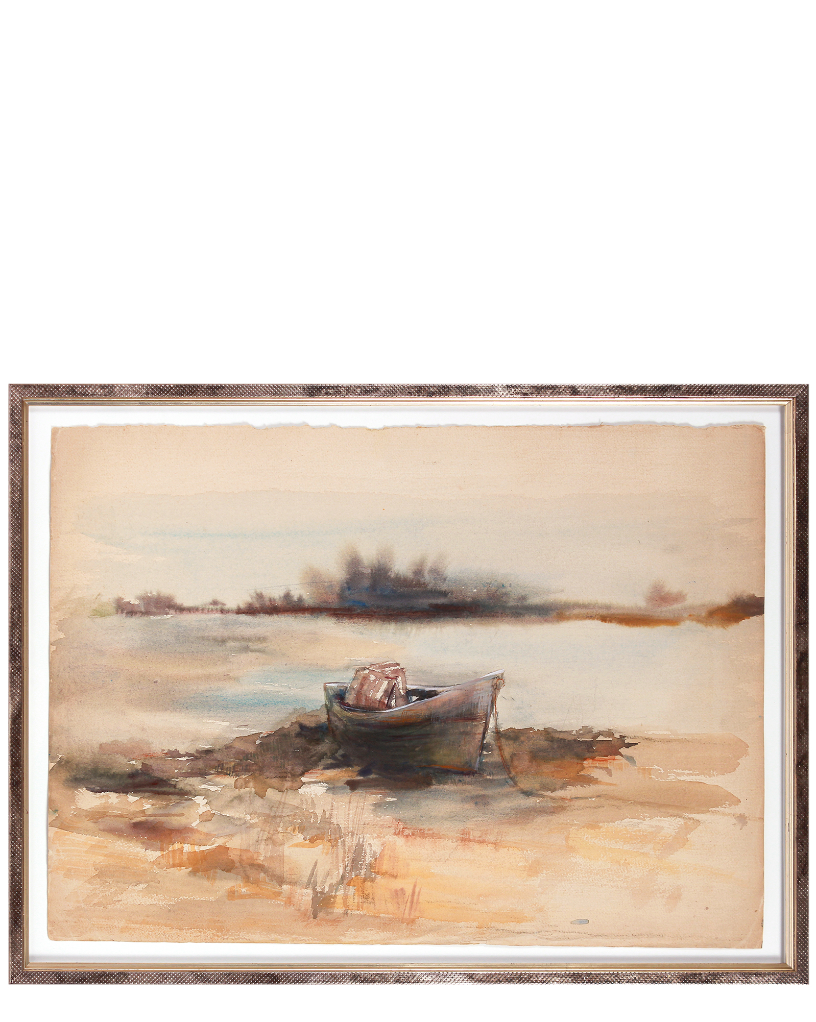 "Lakeside Boat on the Shore"" by Cappi Insinna,"