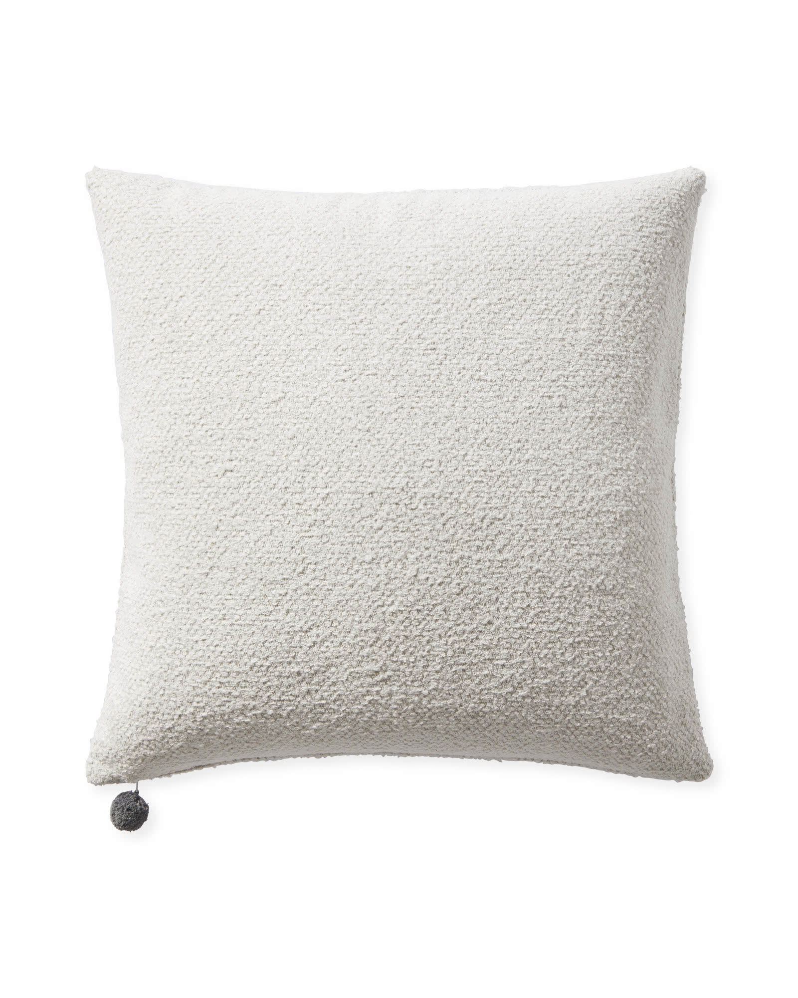 Perennials Performance Textured Loop Pillow Cover, Ivory