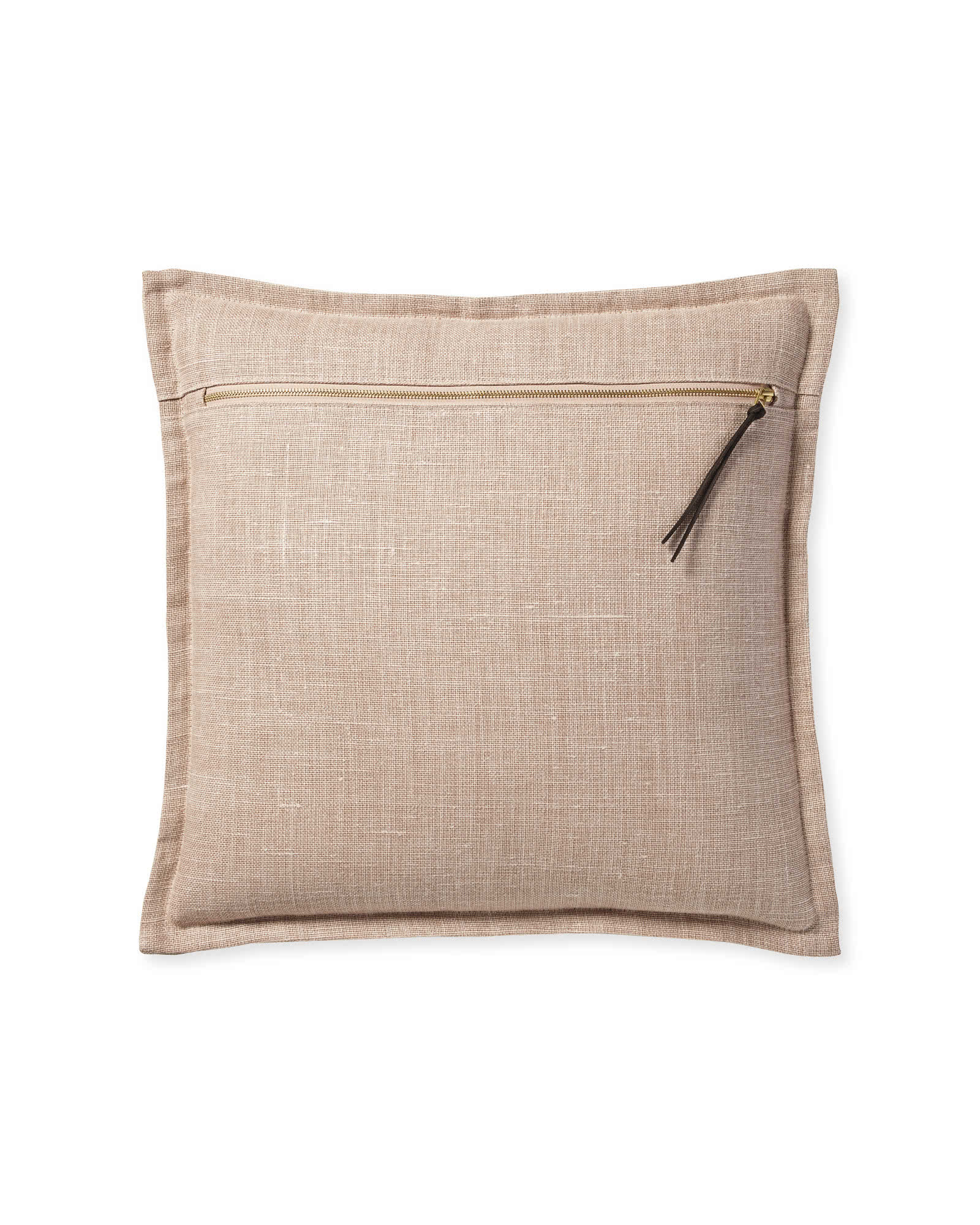 Two Tone Zip Pillow Cover,