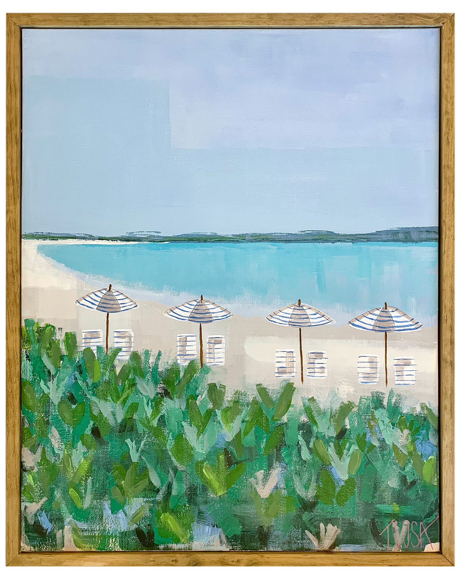 """Anguilla Beaches"" by Theresa Losa,"