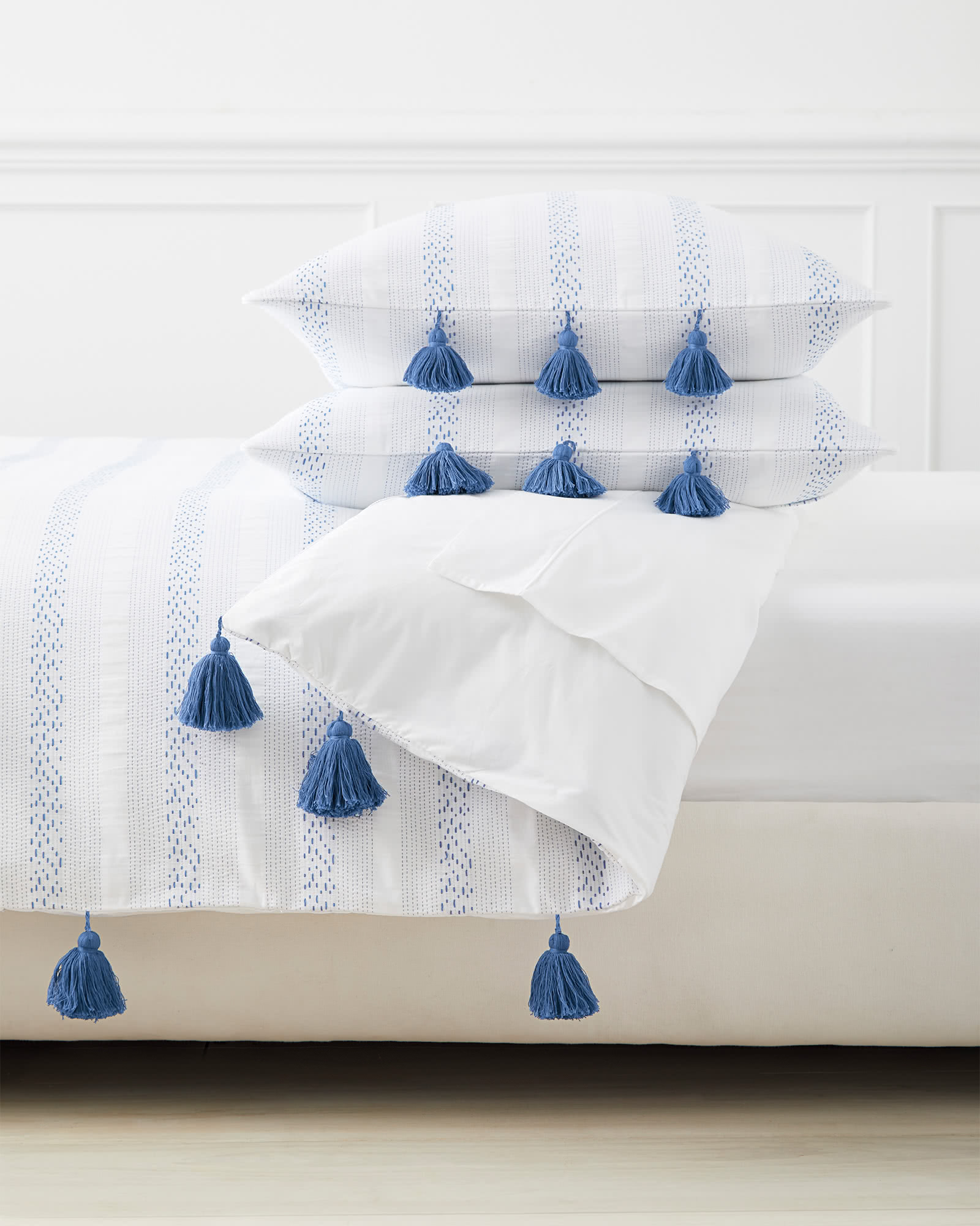 Sea Ranch Duvet Cover, French Blue