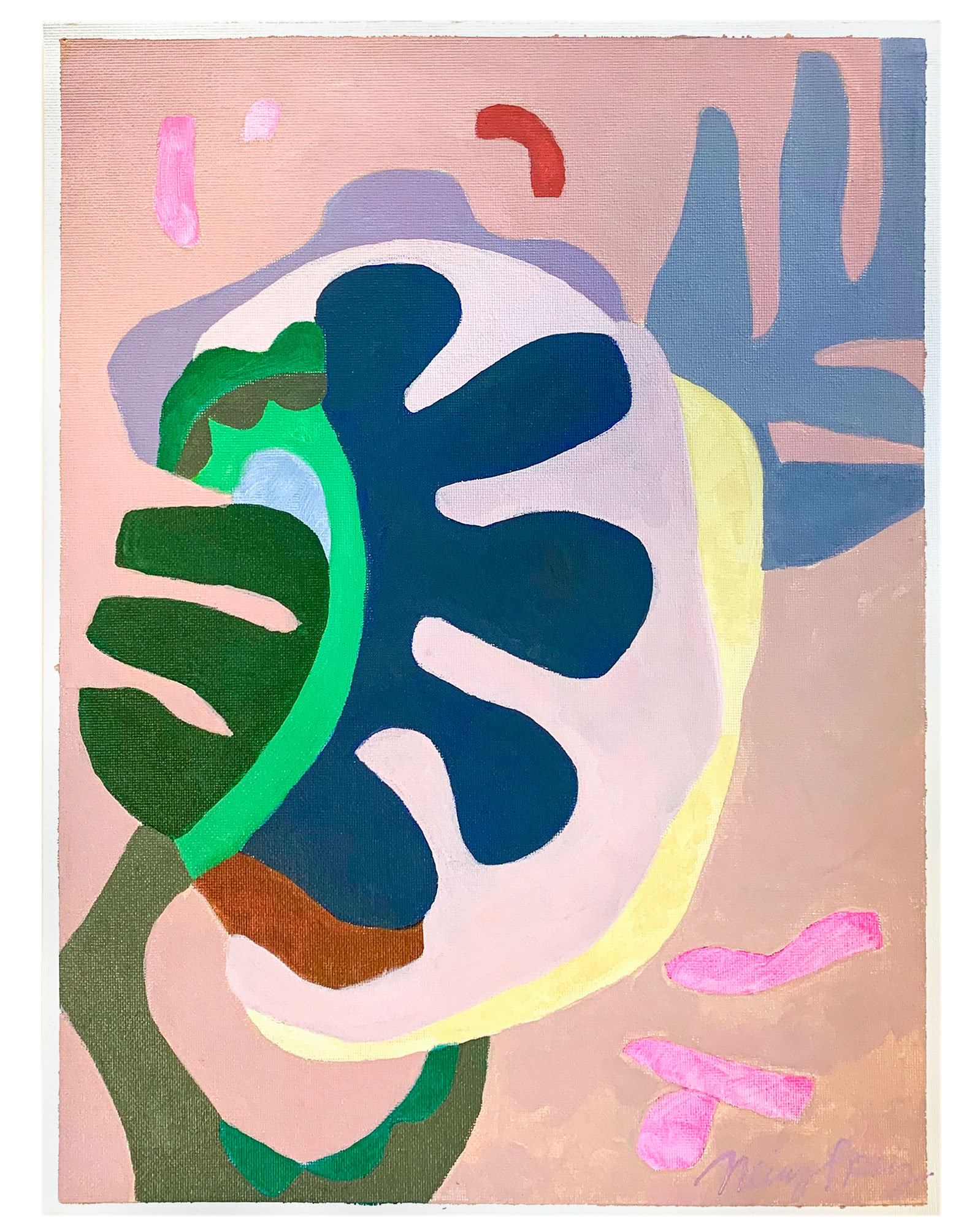 """Monstera Obscura"" by Neicy Frey,"