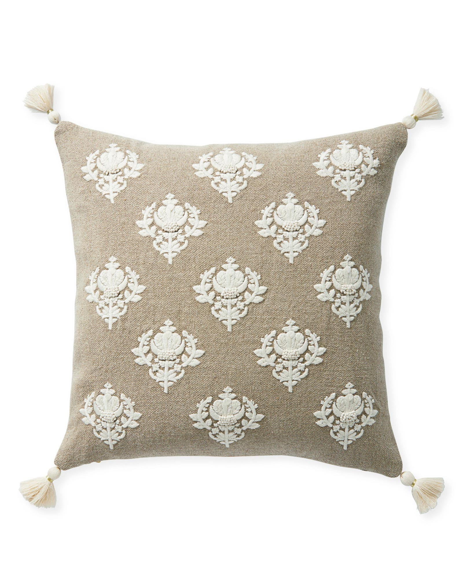 Kemp Pillow Cover - Flax,