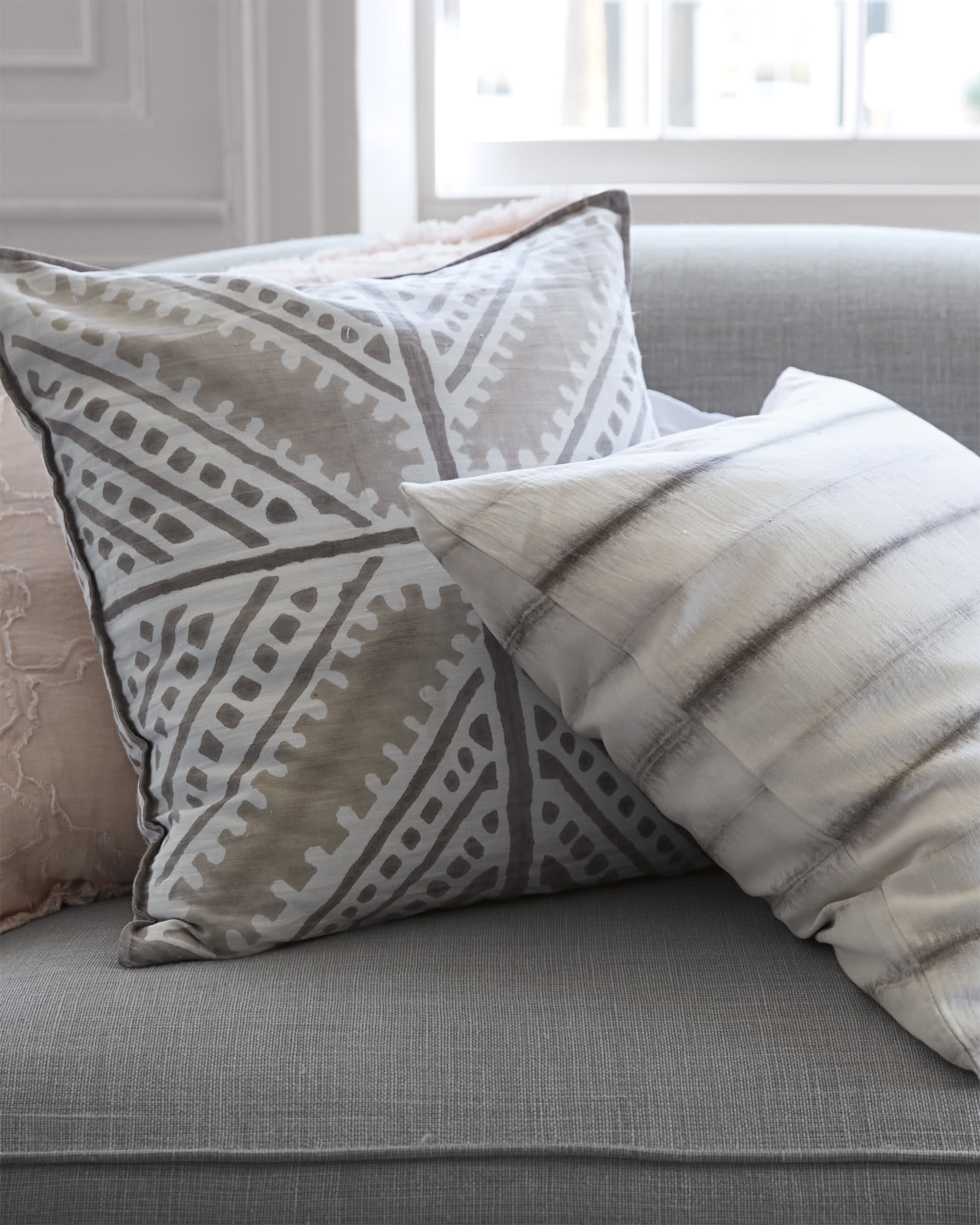 Sienna Tile Pillow Cover Serena & Lily