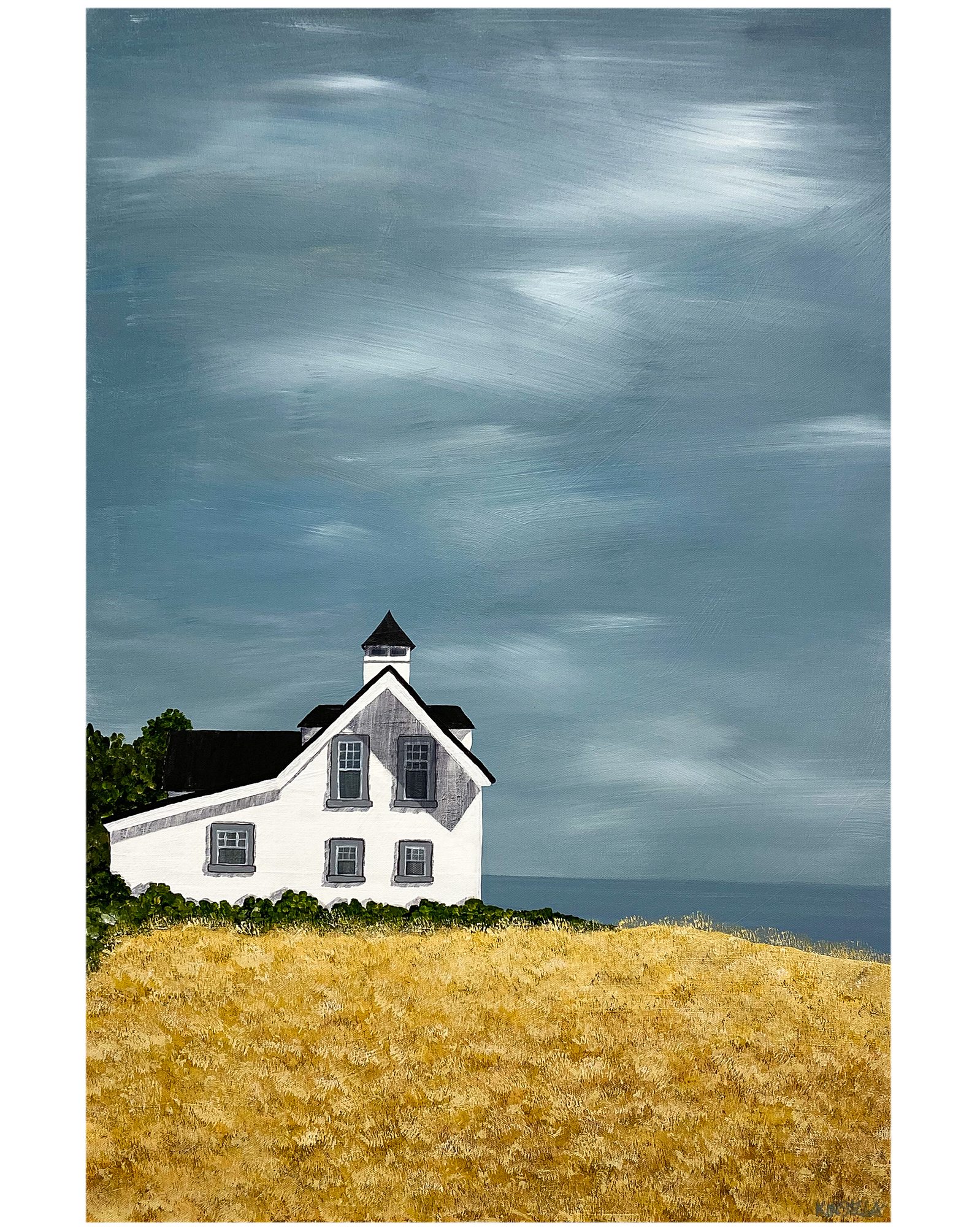 """""""View of the Sea"""" by Susan Kinsella,"""