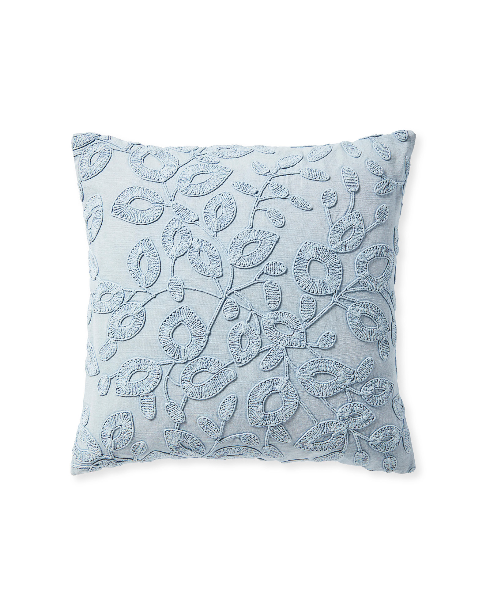 Willowbrook Pillow Cover, Coastal Blue