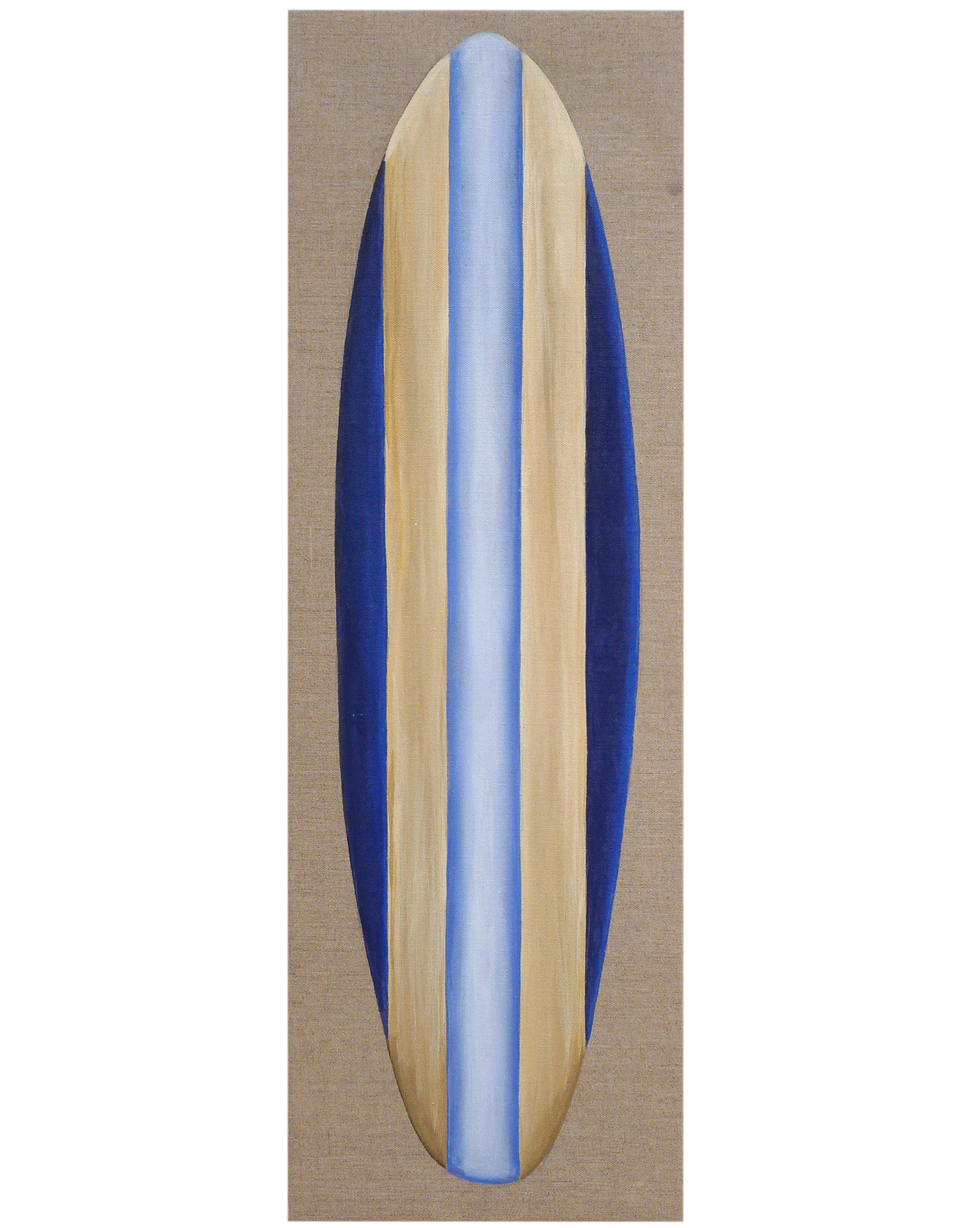 "Surfboard #12"" by Carol Saxe,"