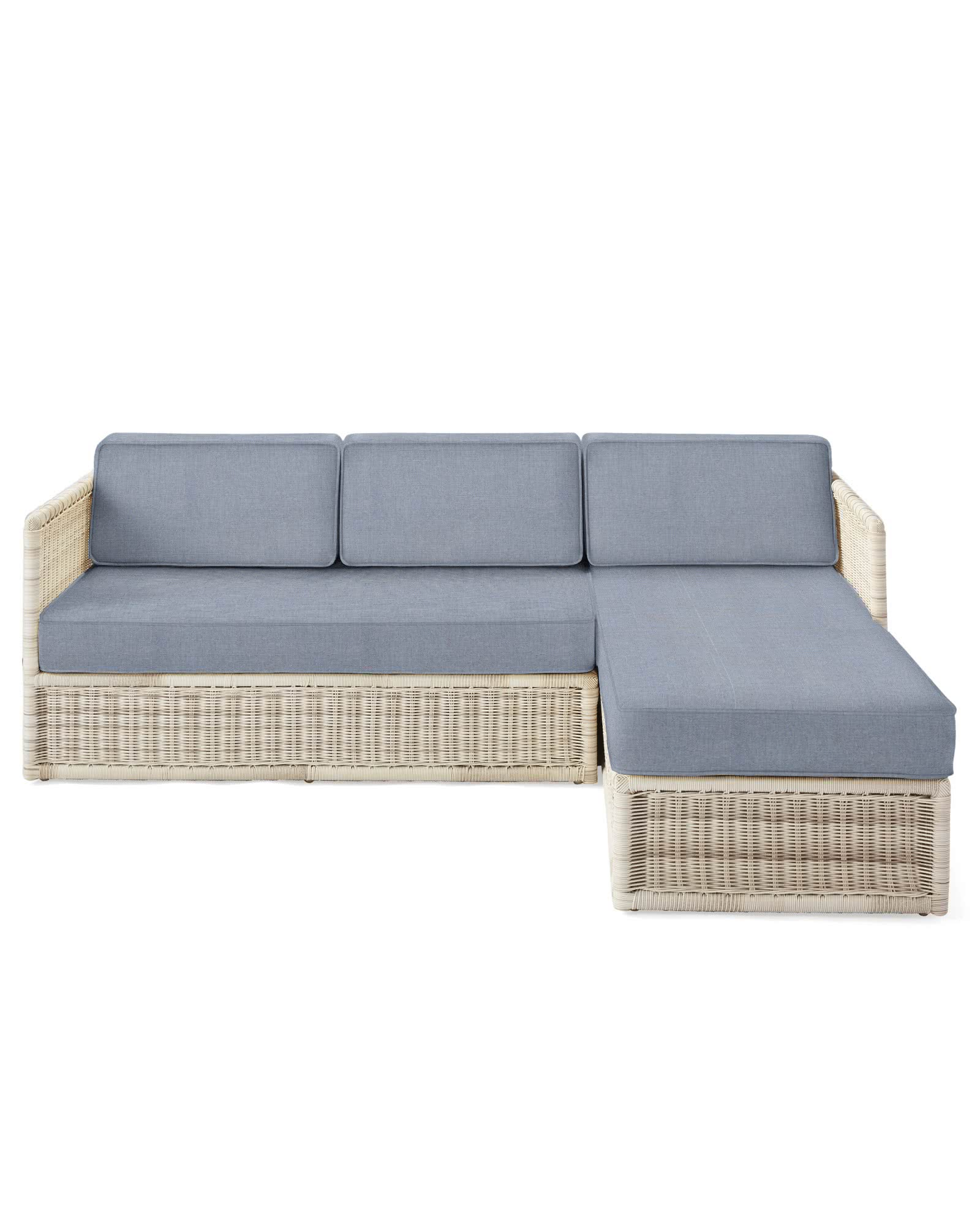 Pacifica Right-Facing Chaise Sectional - Driftwood,