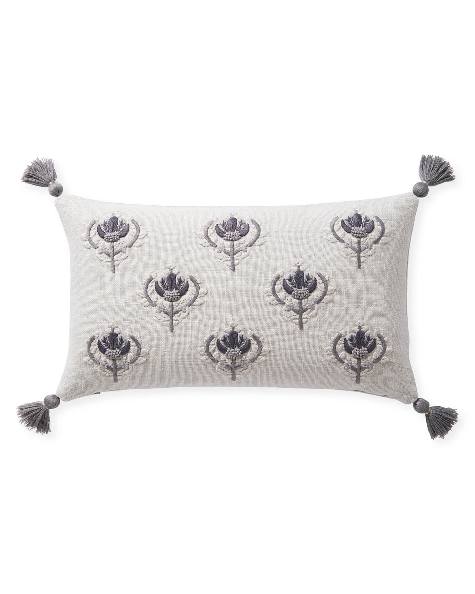 Kemp Pillow Cover, Fog
