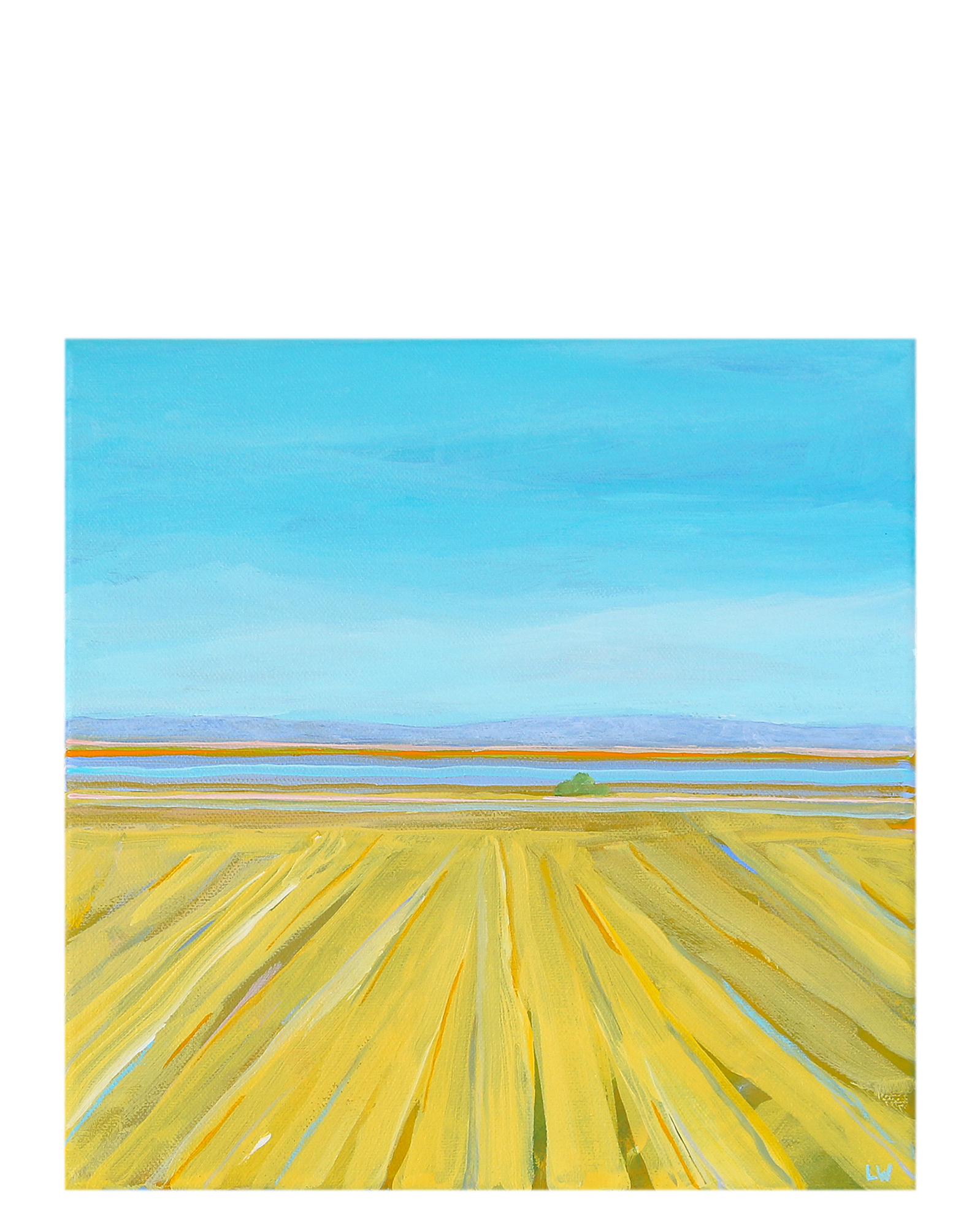 """""""Spring Yellow 2"""" by Laurie Winthers,"""