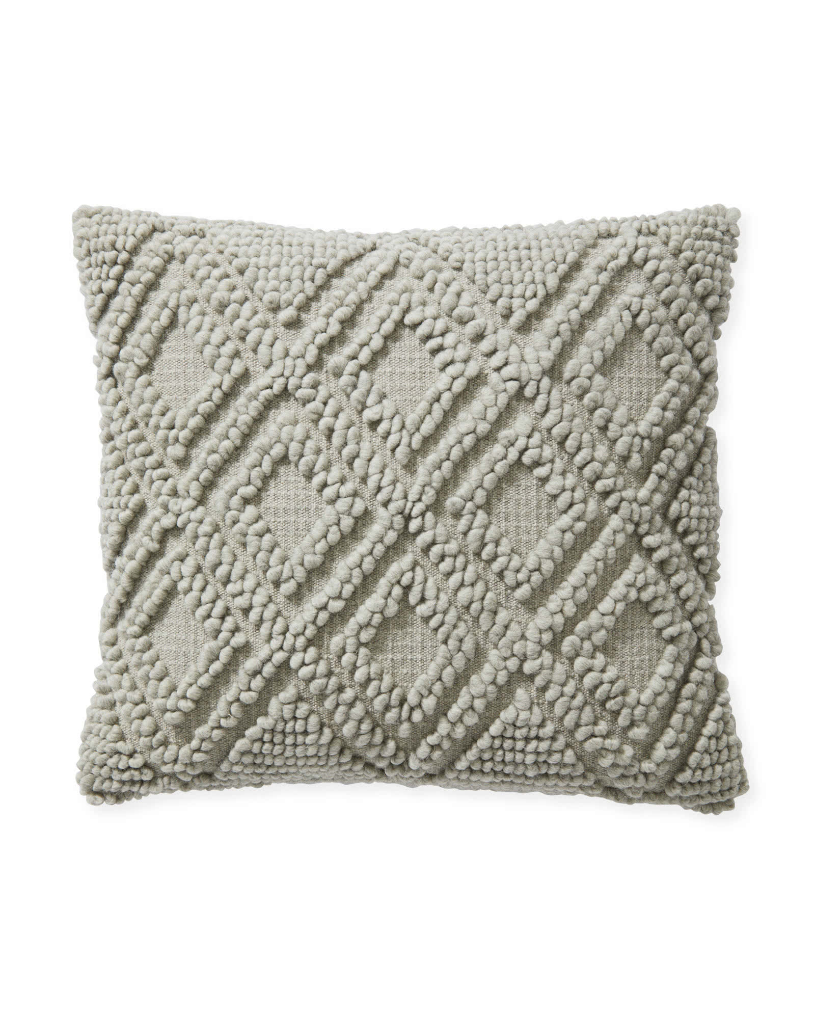 Amalie Pillow Cover, Smoke