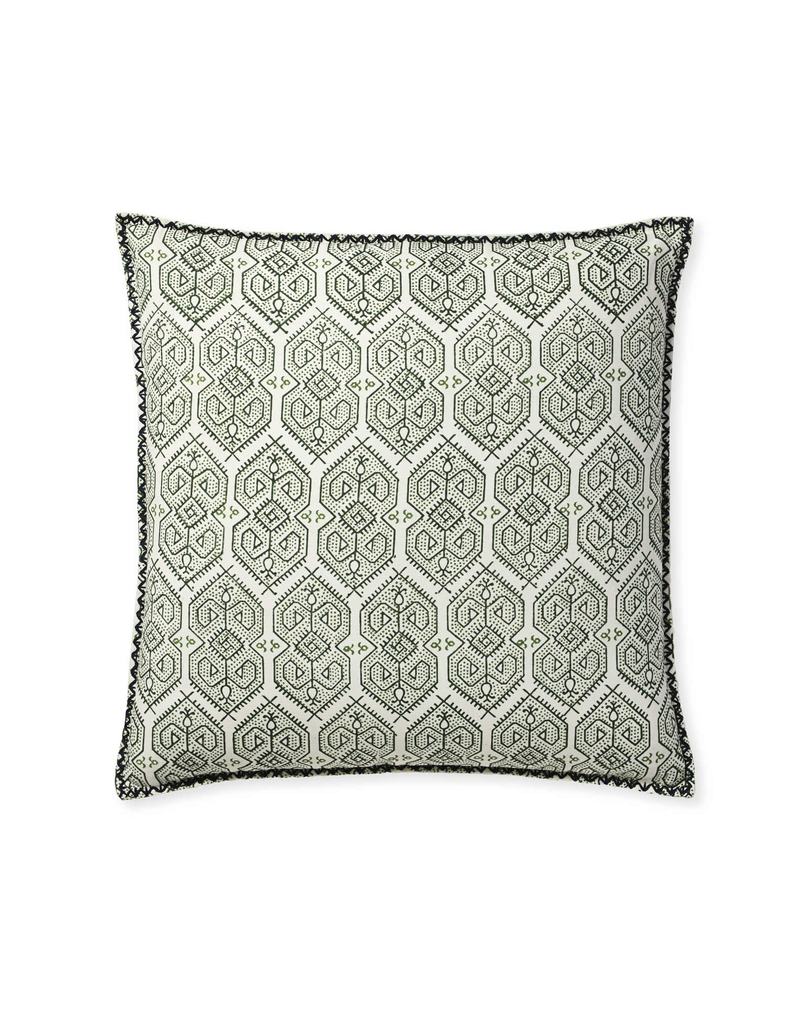 Jamesport Pillow Cover, Palm Green