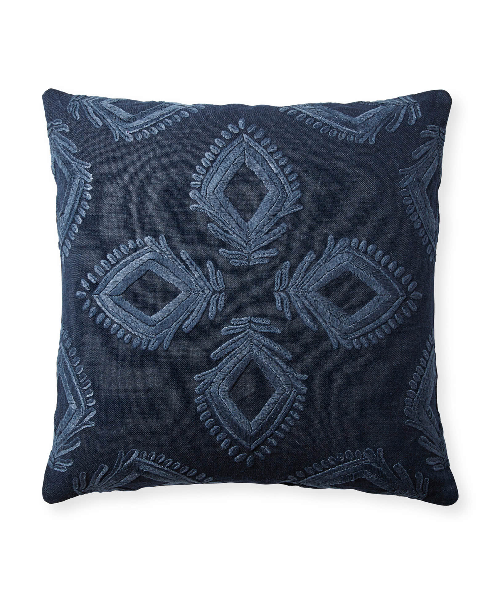 Leighton Pillow Cover, Midnight