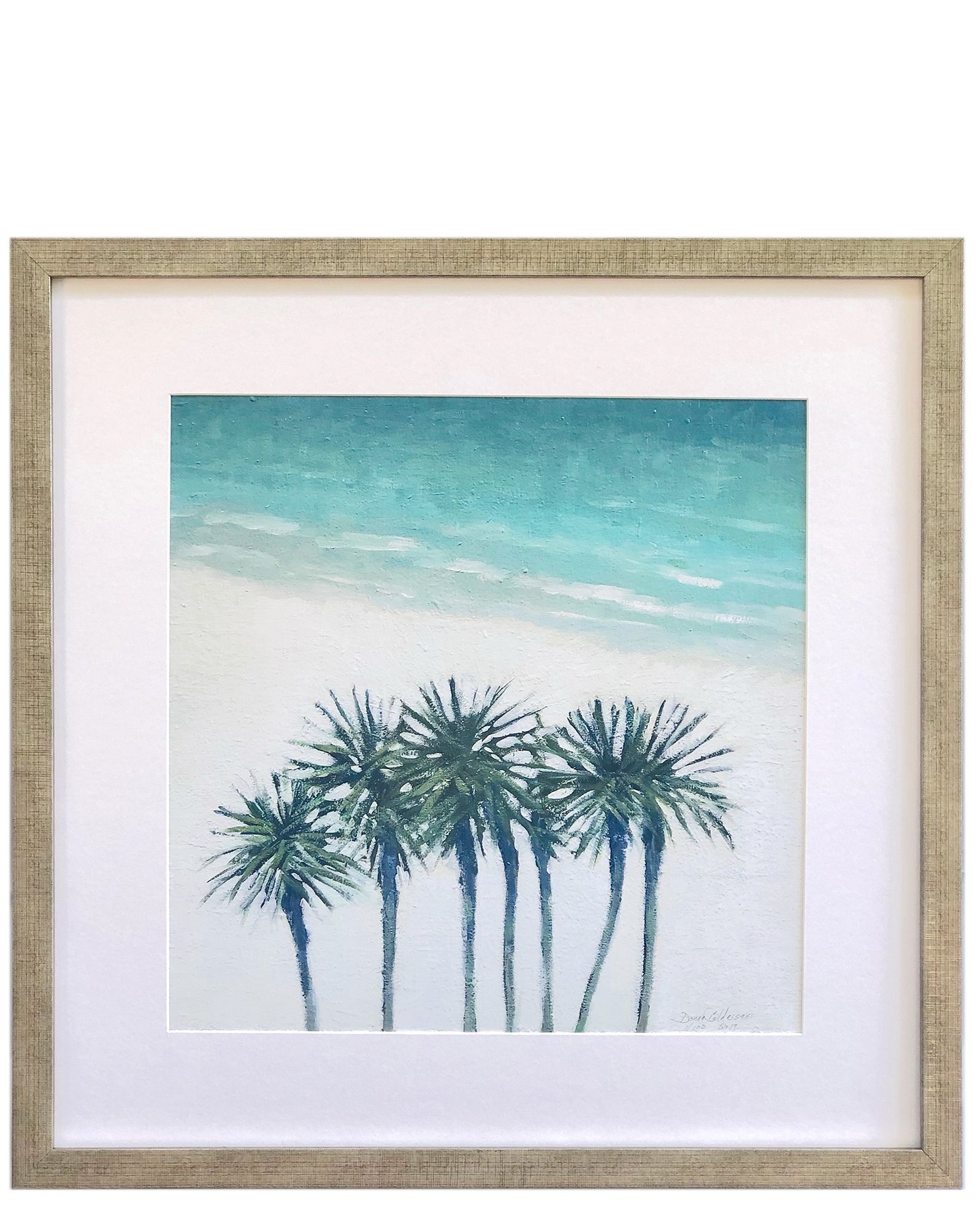 """Palms & Shore"" by Donna Baldassari,"