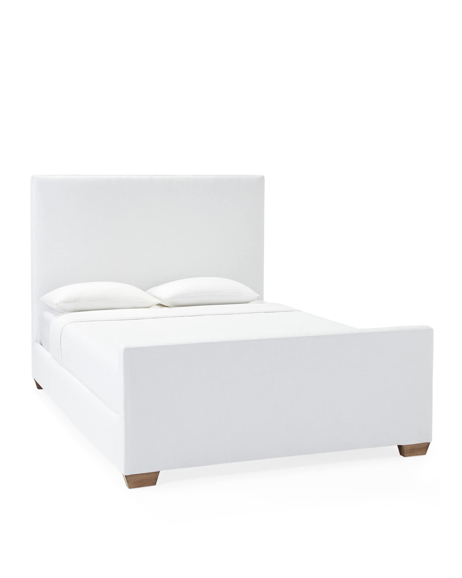 Octavia Bed with Footboard,
