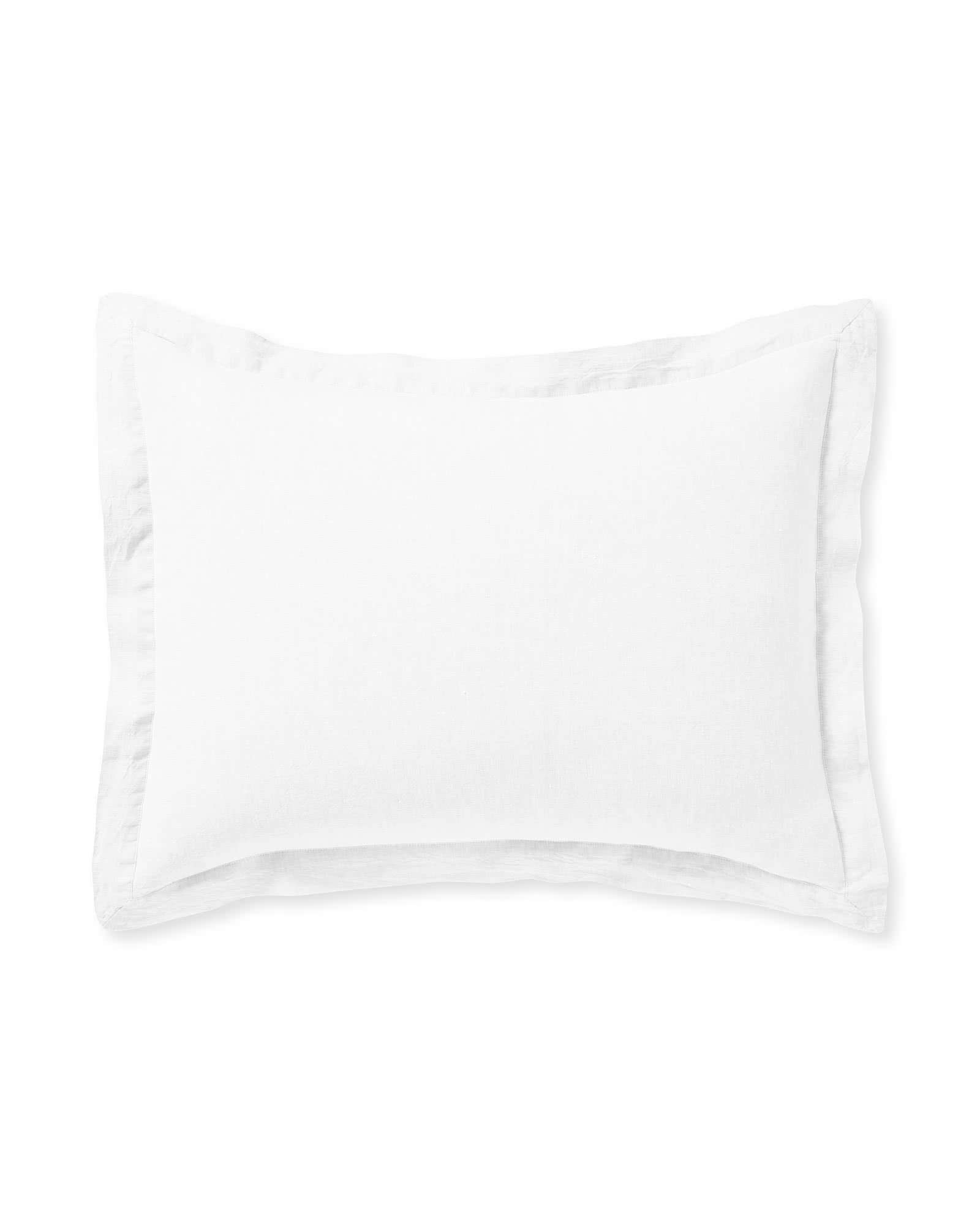 Cavallo Linen Shams, White