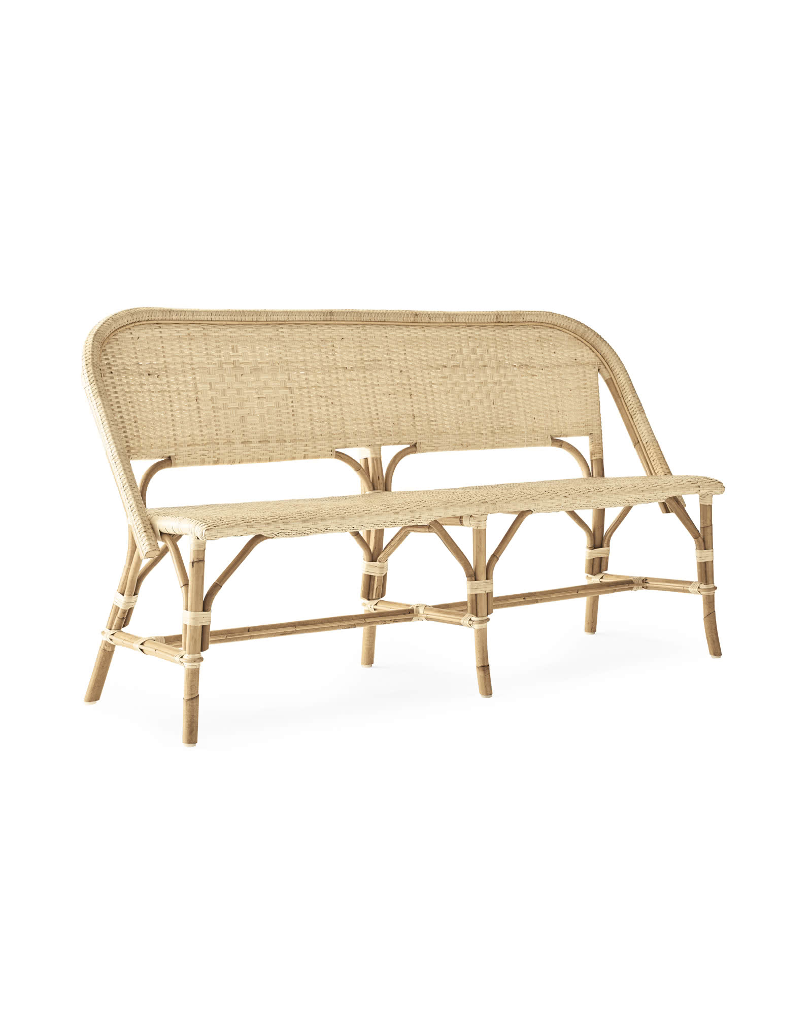 Sunwashed Riviera Bench,