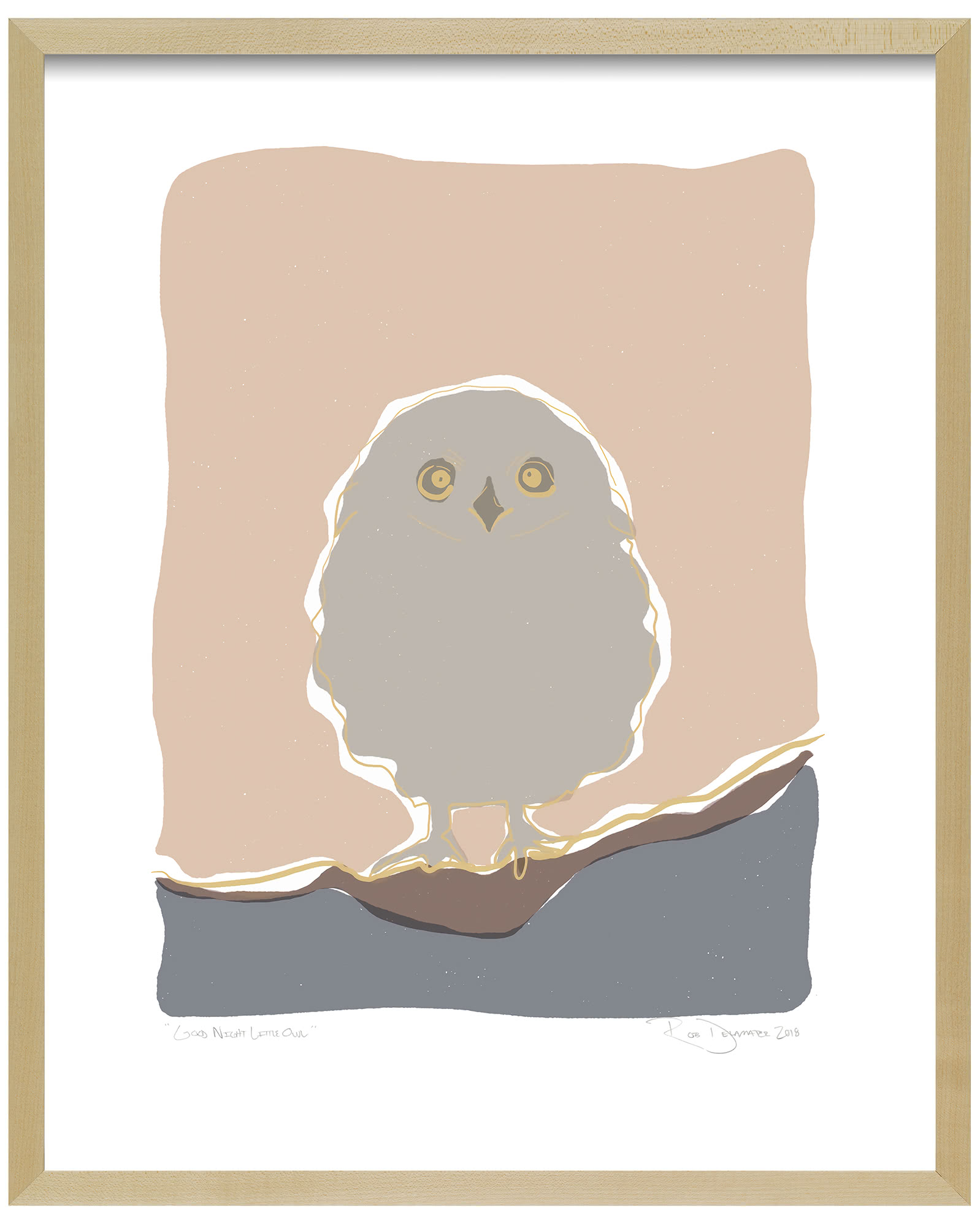 """Good Night Little Owl"" by Rob Delamater,"