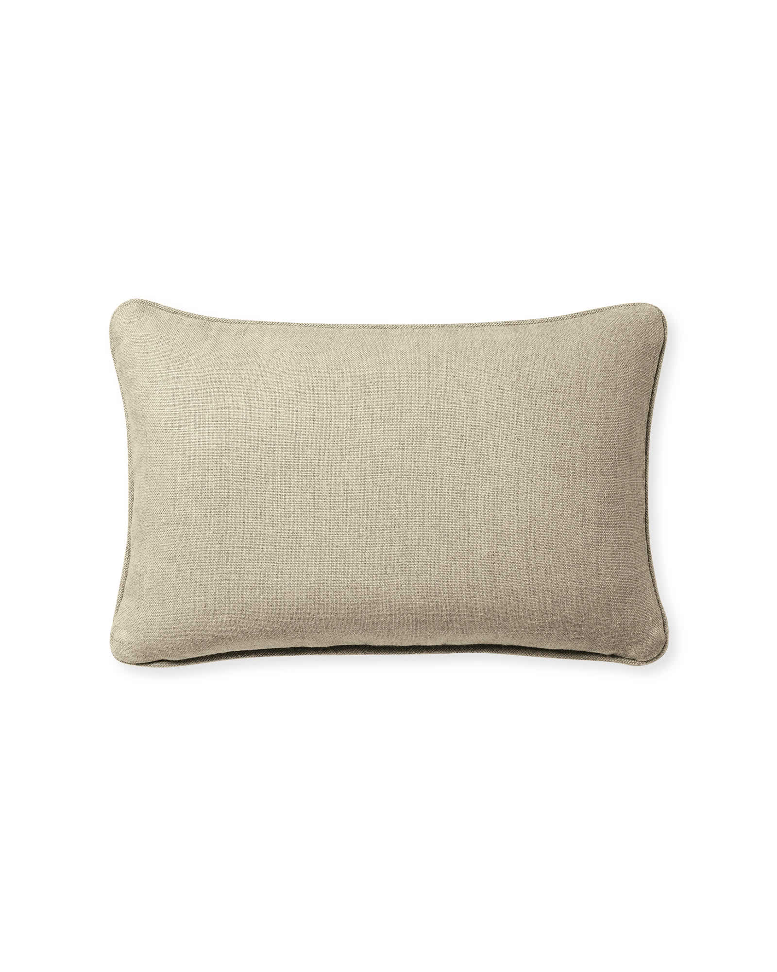 Leather Pillow Cover, Pink Sand