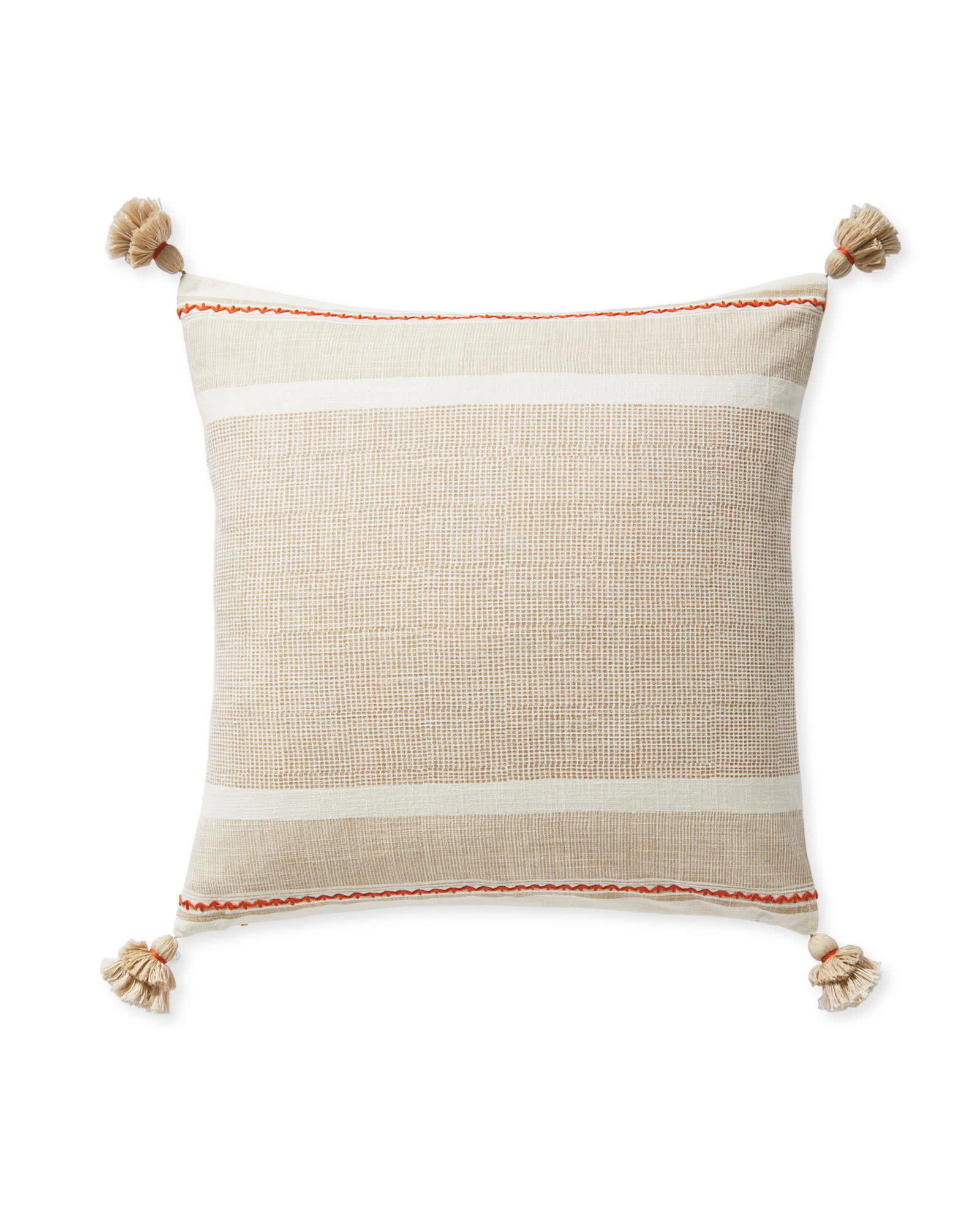 Aviv Pillow Cover, Sand