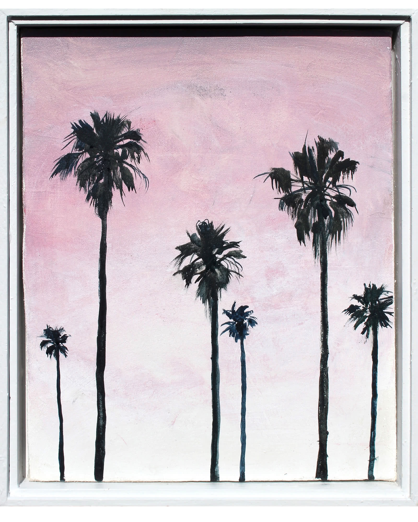 """Magenta Palms"" by John Bucklin"