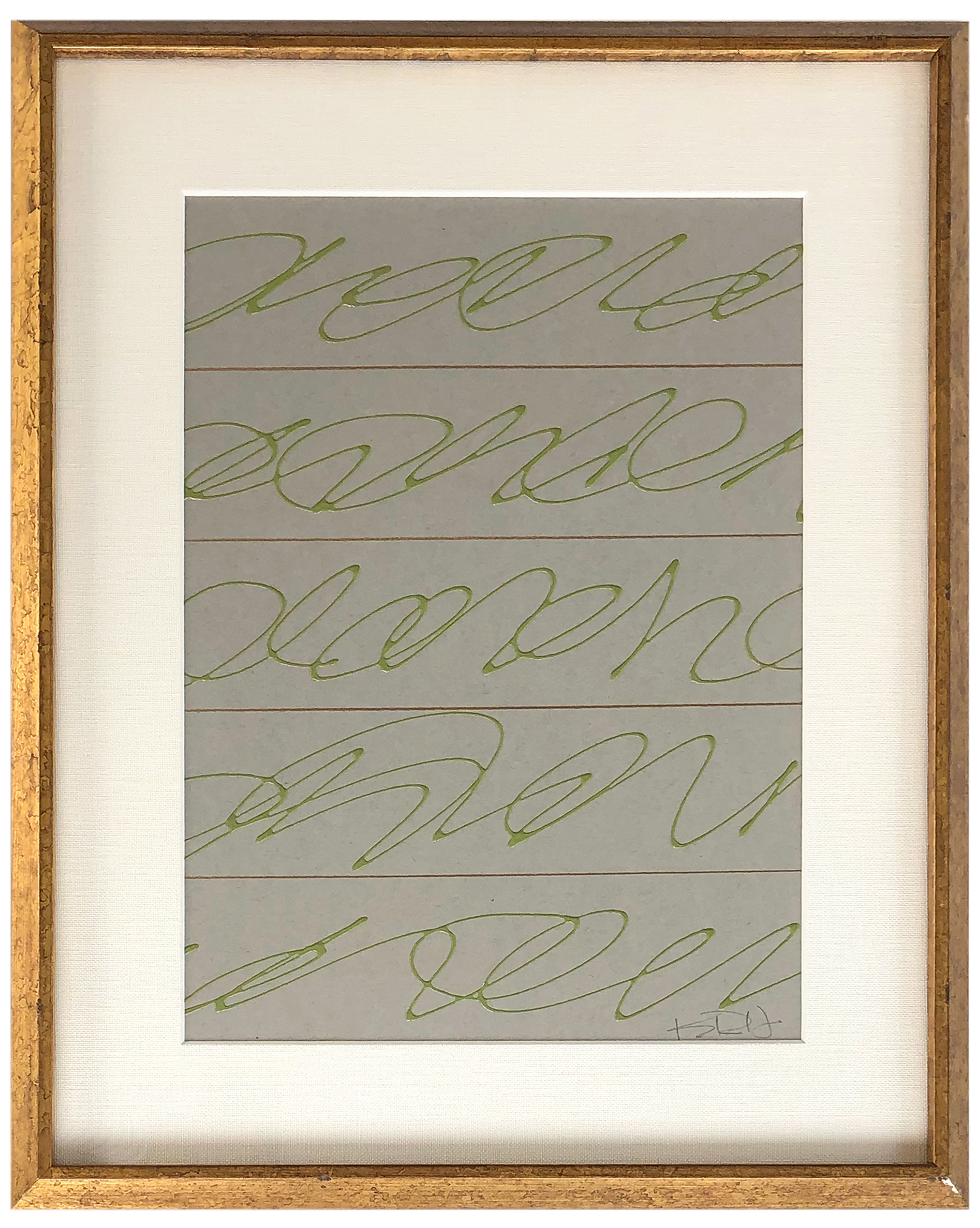 Love Notes in Green #2 by Kayce Hughes,